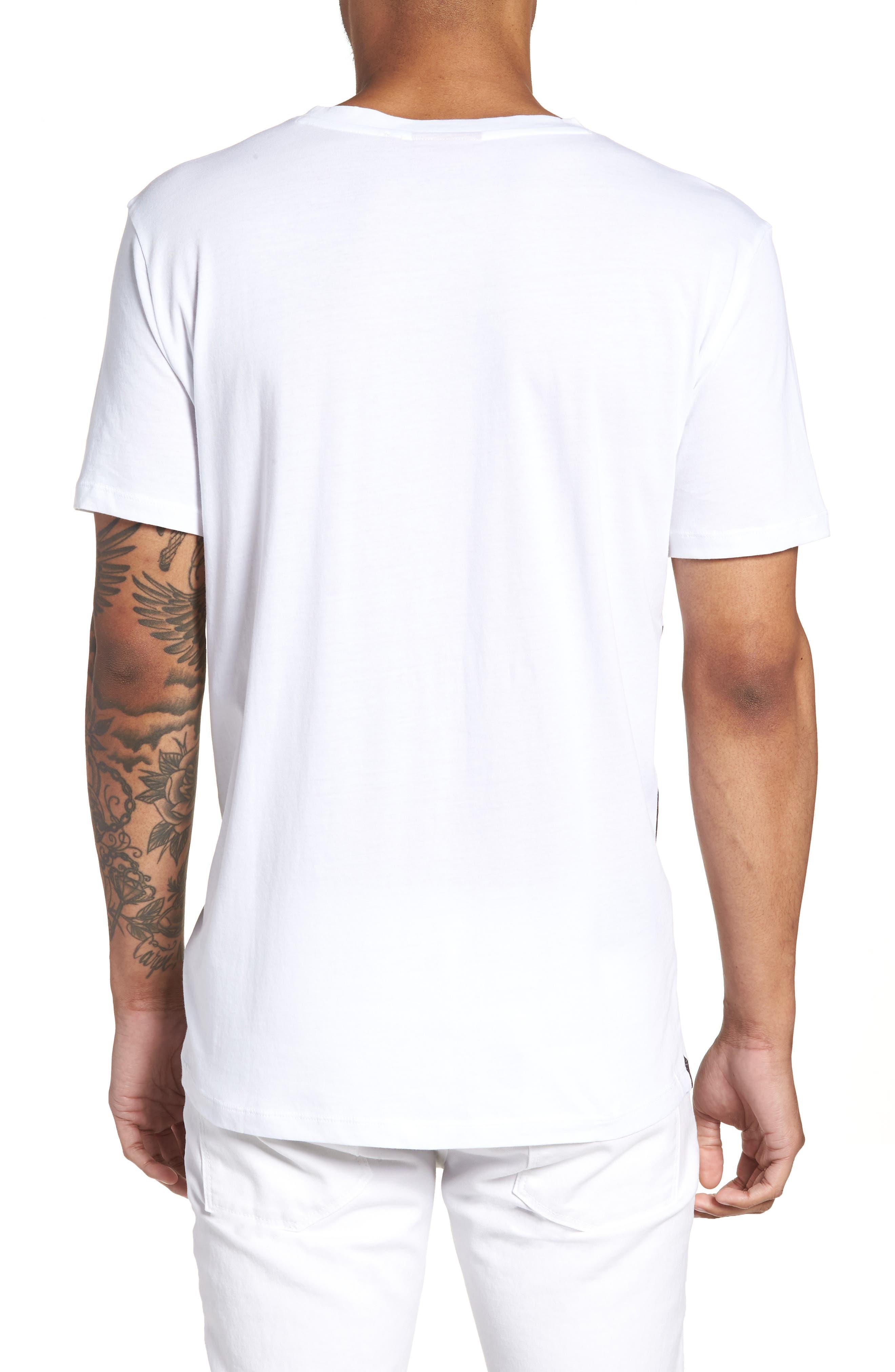 BOSS Daws Crewneck T-Shirt,                             Alternate thumbnail 4, color,