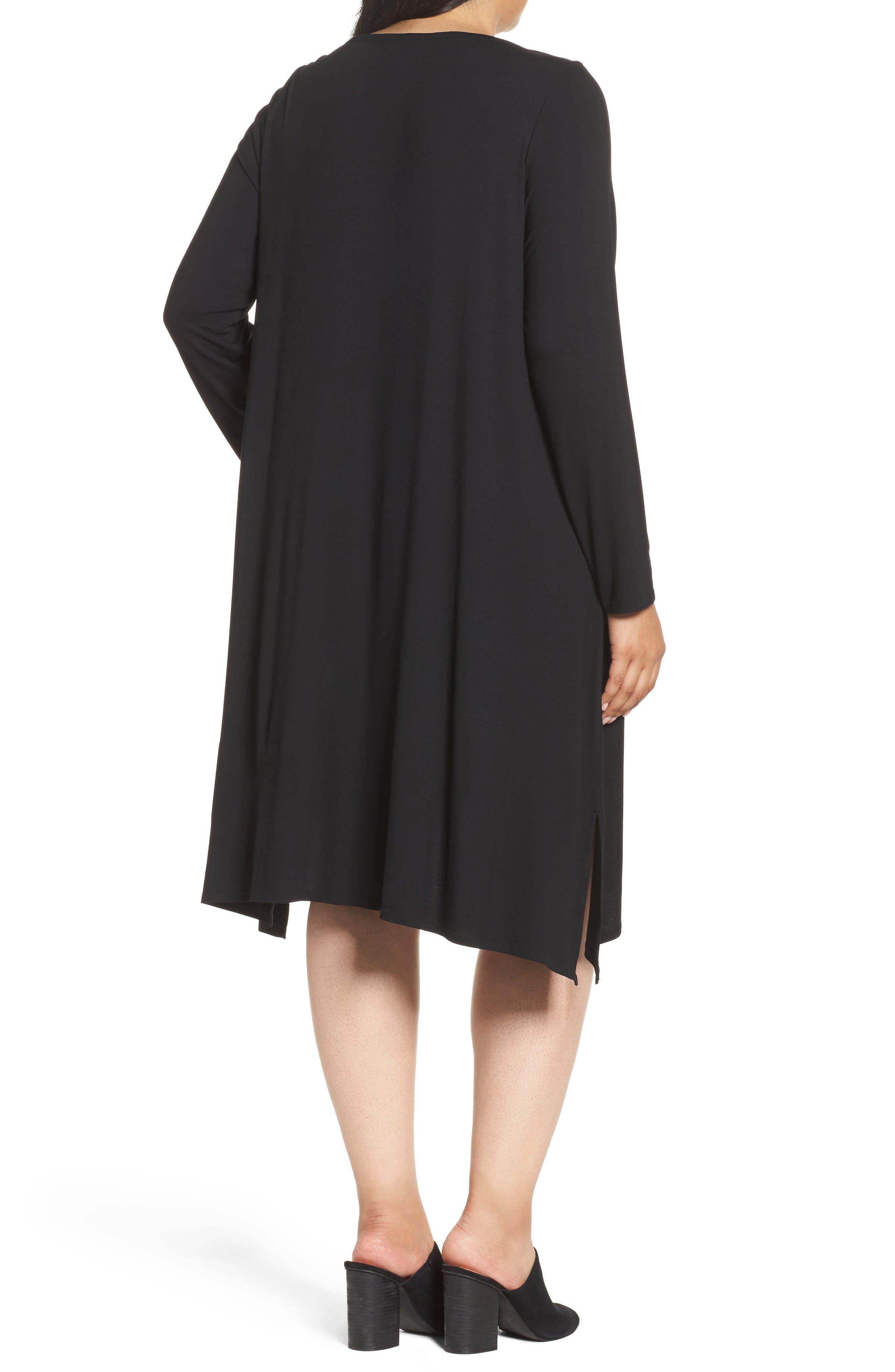 Jersey Tunic Dress,                             Alternate thumbnail 5, color,