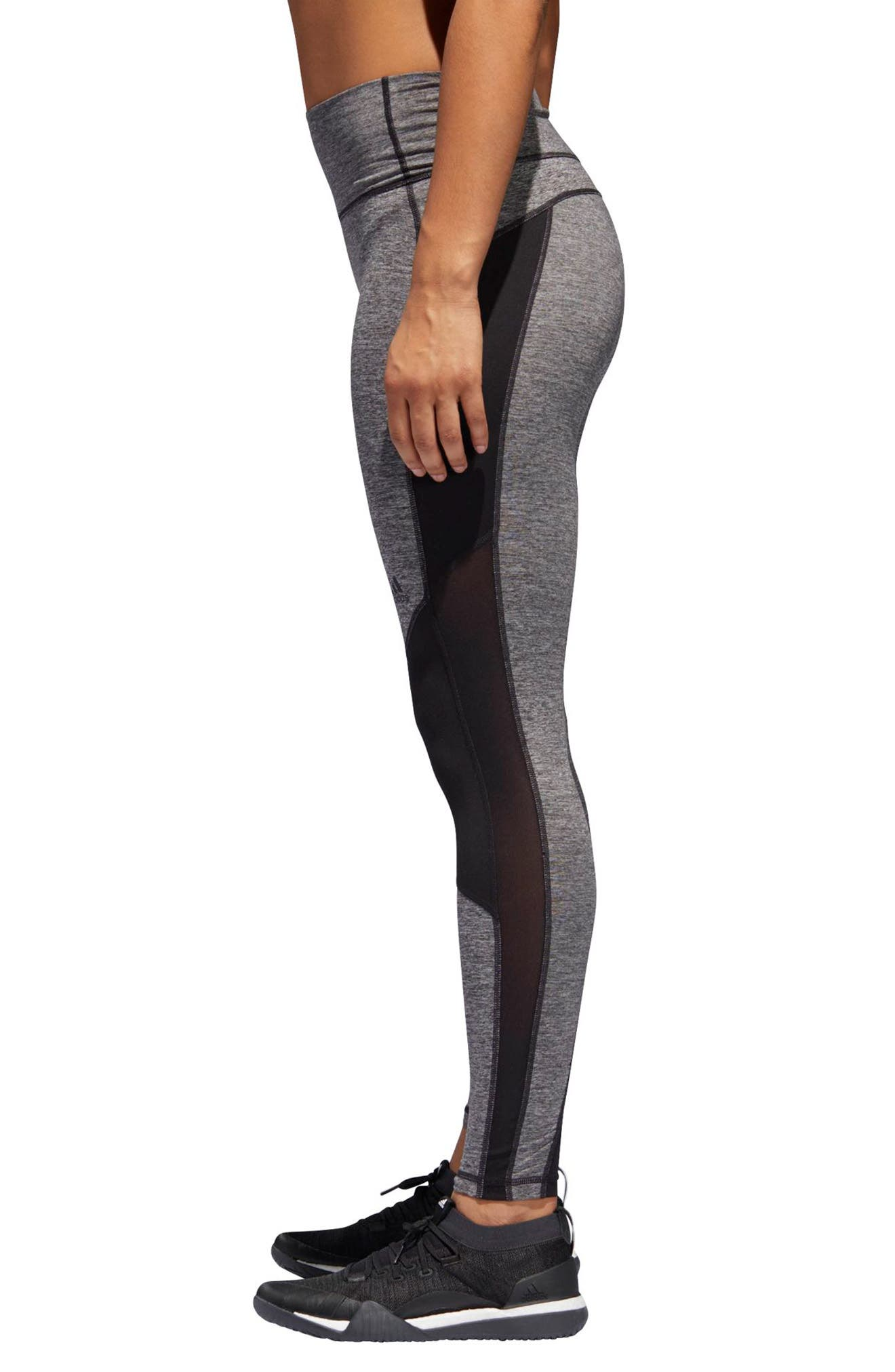 VFA Climalite<sup>®</sup> High Waist Tights,                             Alternate thumbnail 3, color,                             001