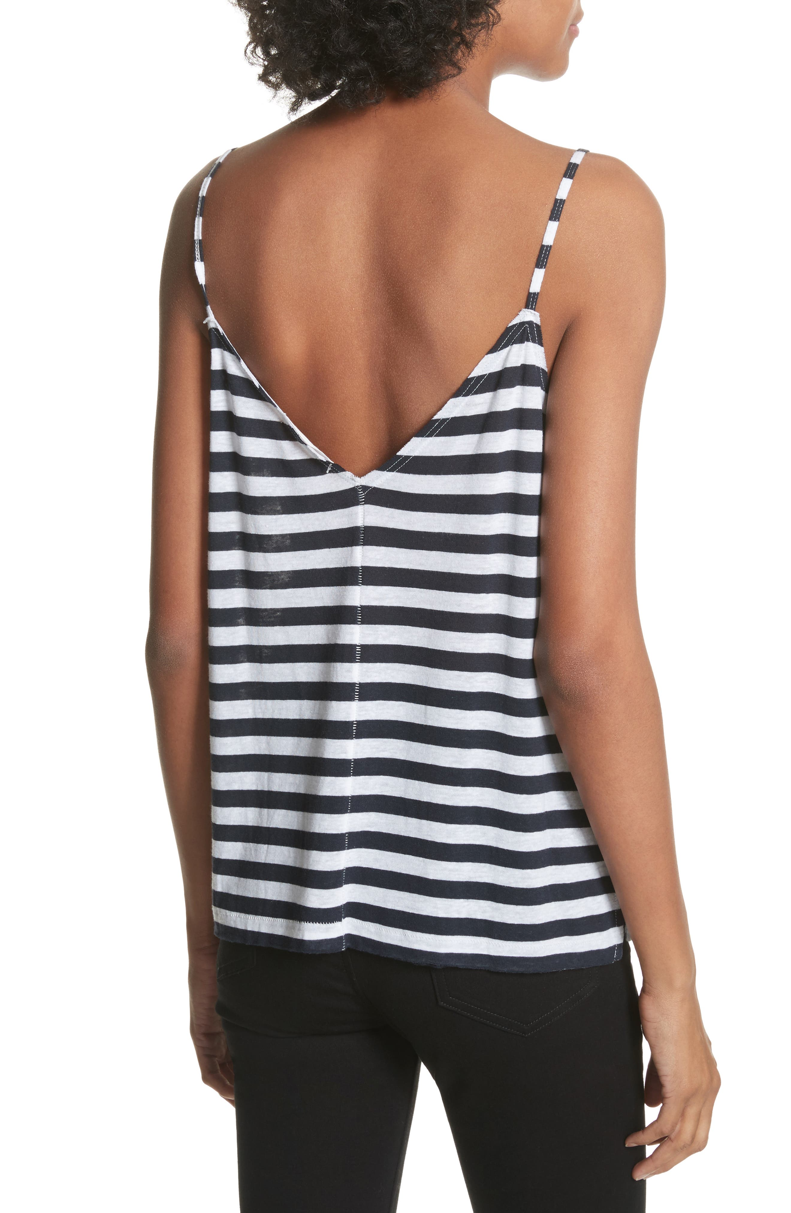 RAG & BONE,                             JEAN Laila Stripe Camisole,                             Alternate thumbnail 2, color,                             410