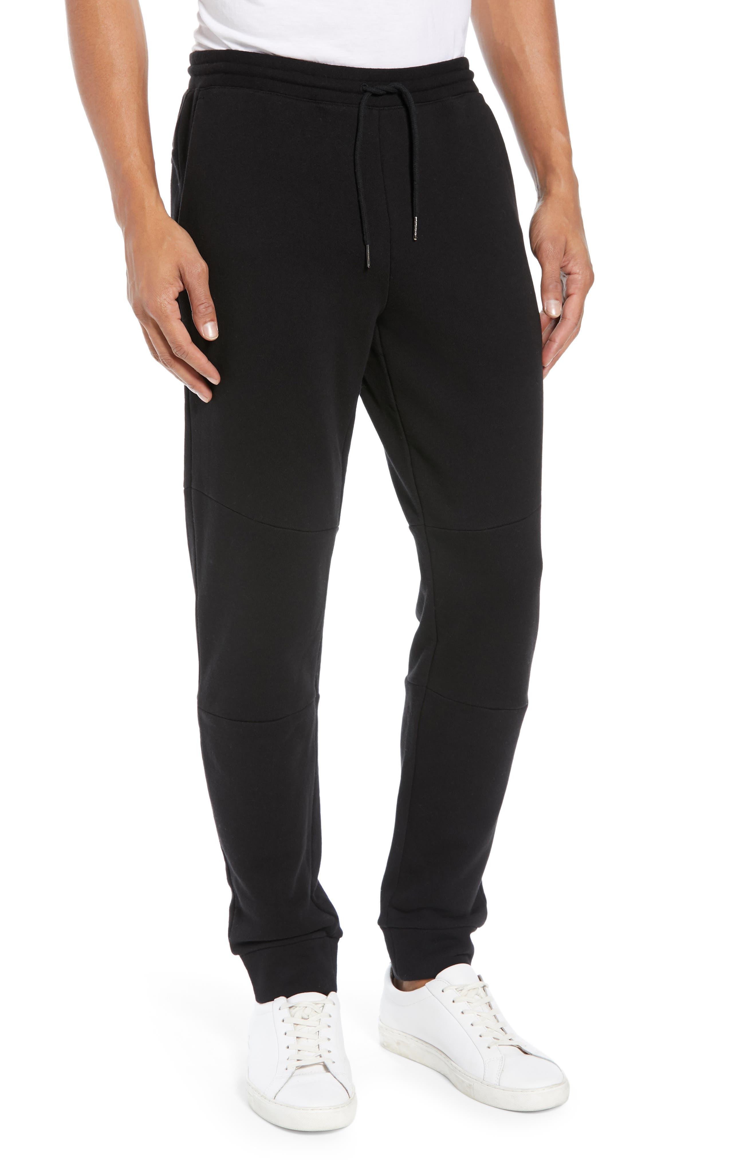 CLUB MONACO Articulated Seam Jogger Pants, Main, color, 001