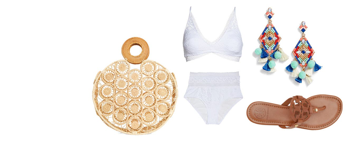 Your look: vacay inspired.