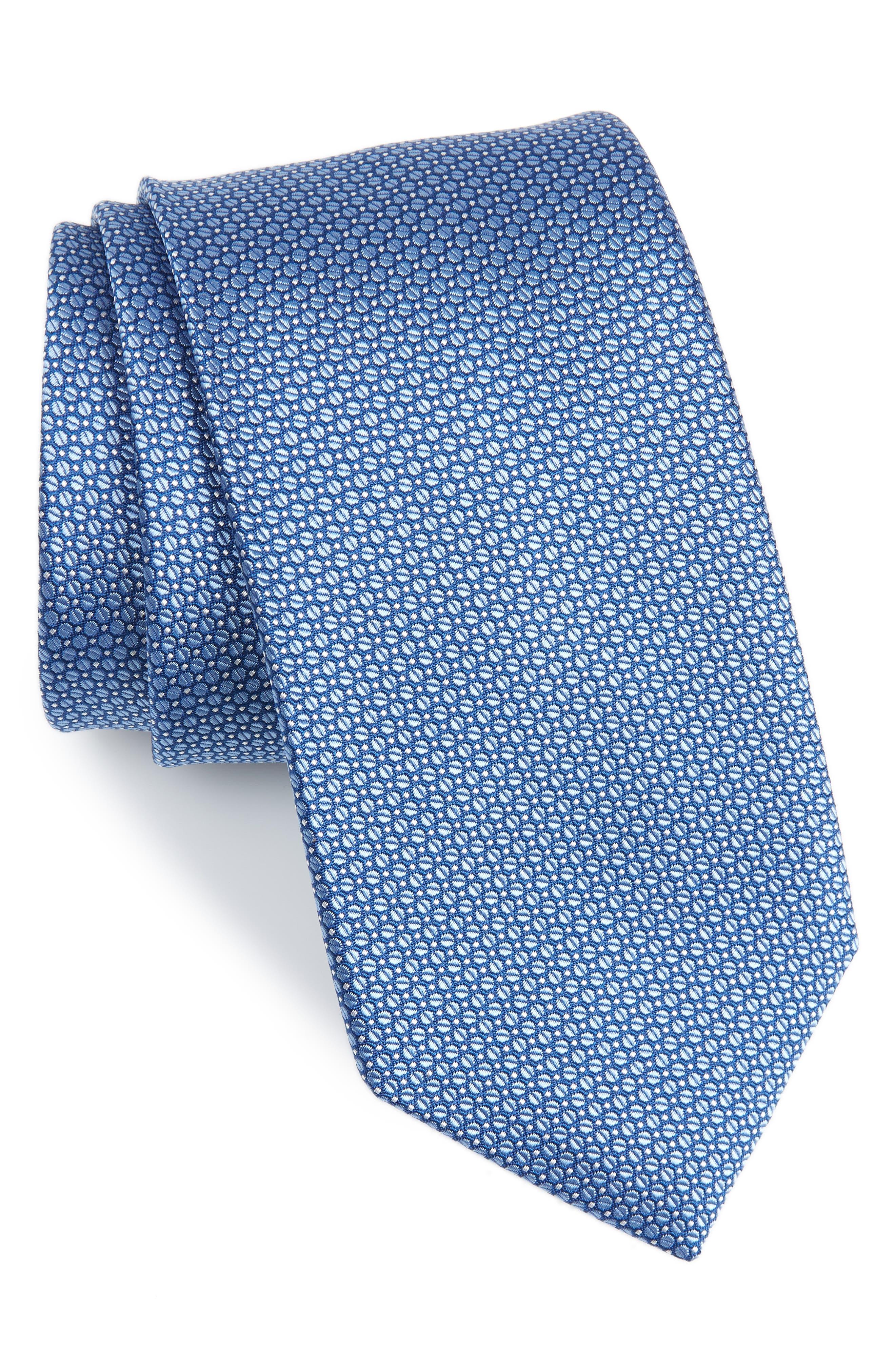 Solid Silk Tie,                         Main,                         color, 429