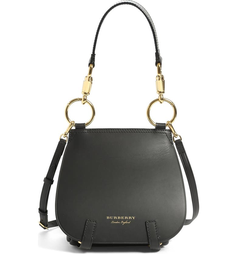 Burberry Runway Bridle Grainy Leather Satchel  07ca52f463e79
