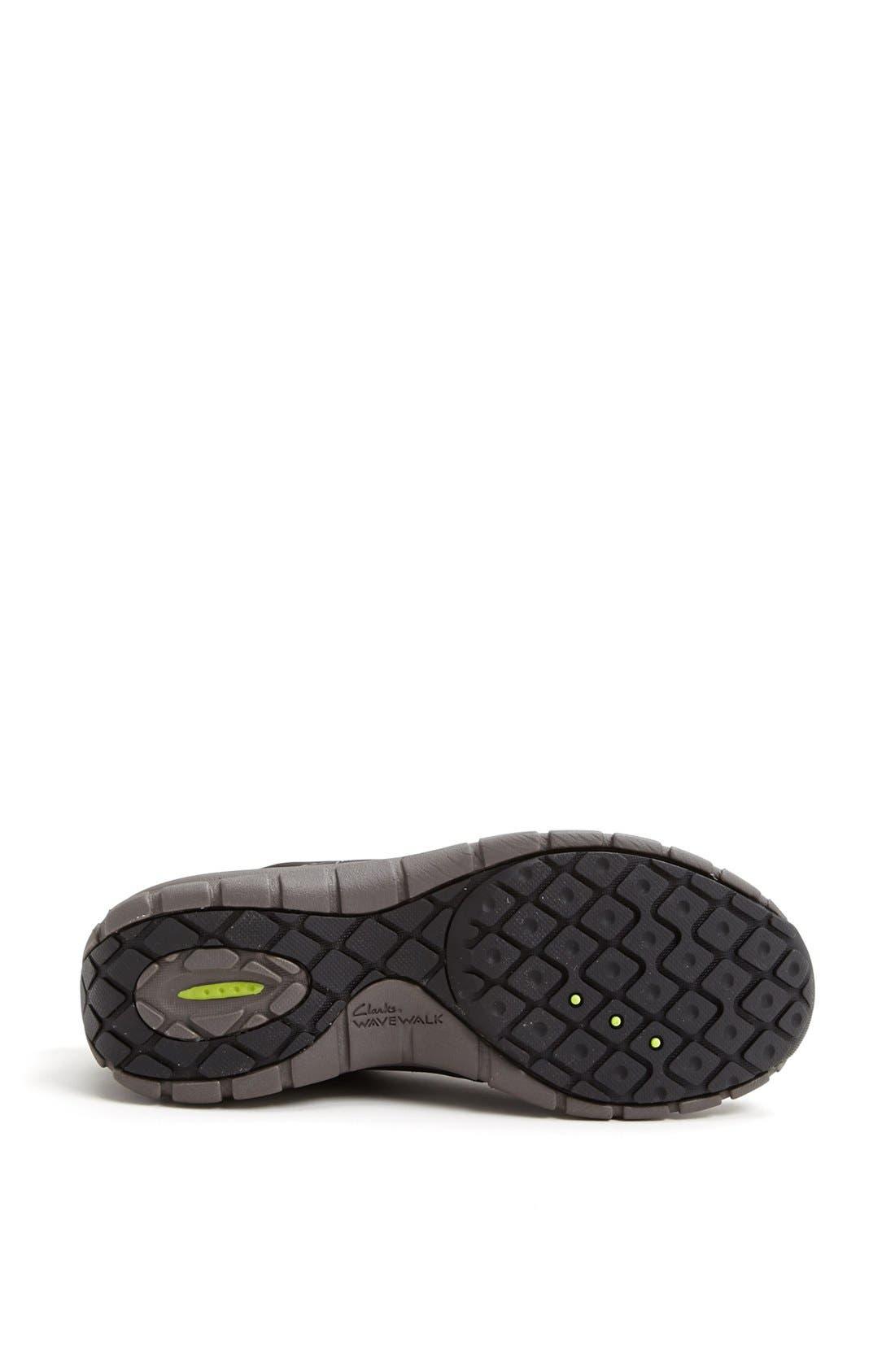 'Wave Trek' Waterproof Sneaker,                             Alternate thumbnail 2, color,                             BLACK