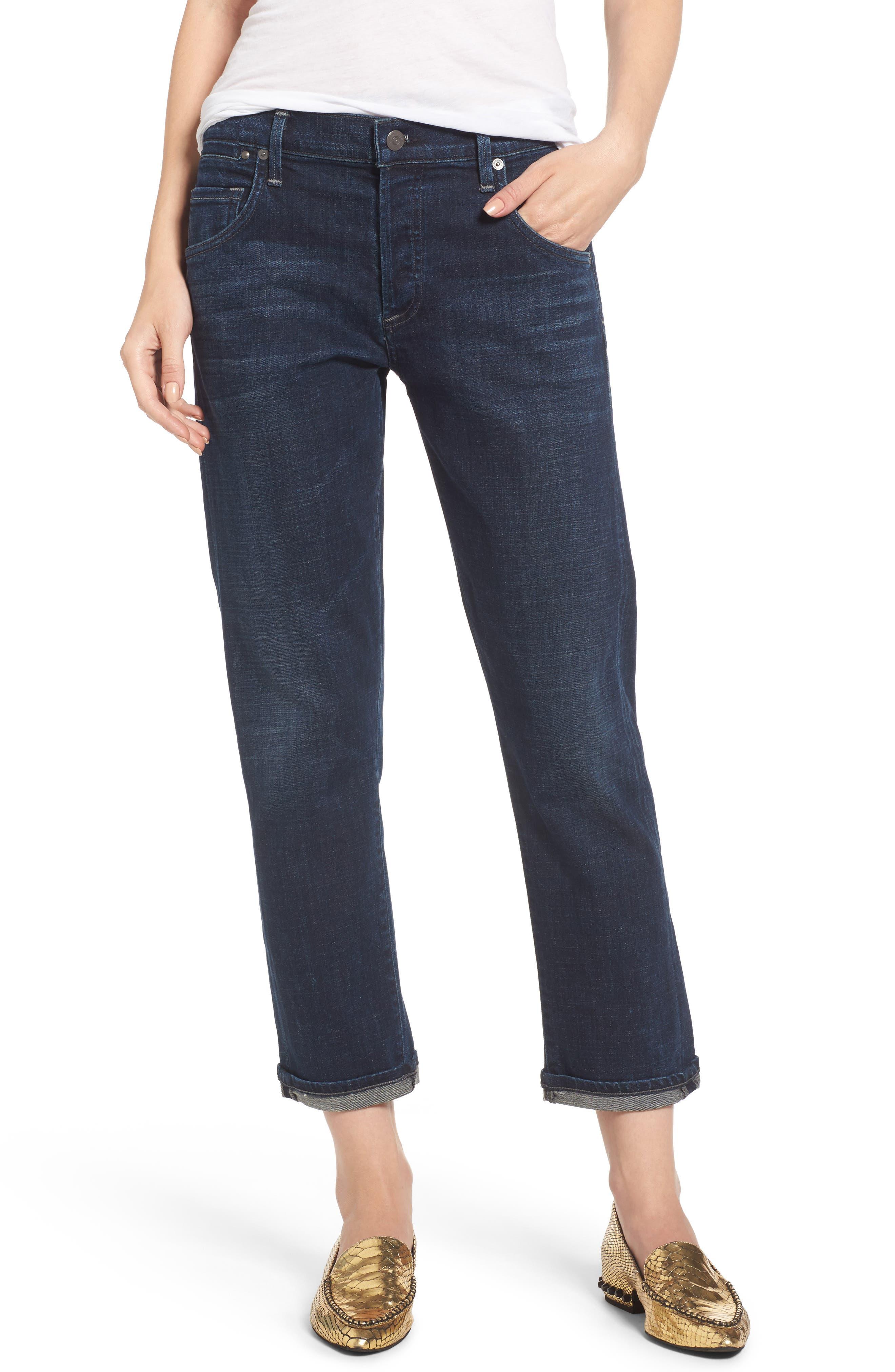 Emerson Slim Boyfriend Jeans,                         Main,                         color, 408