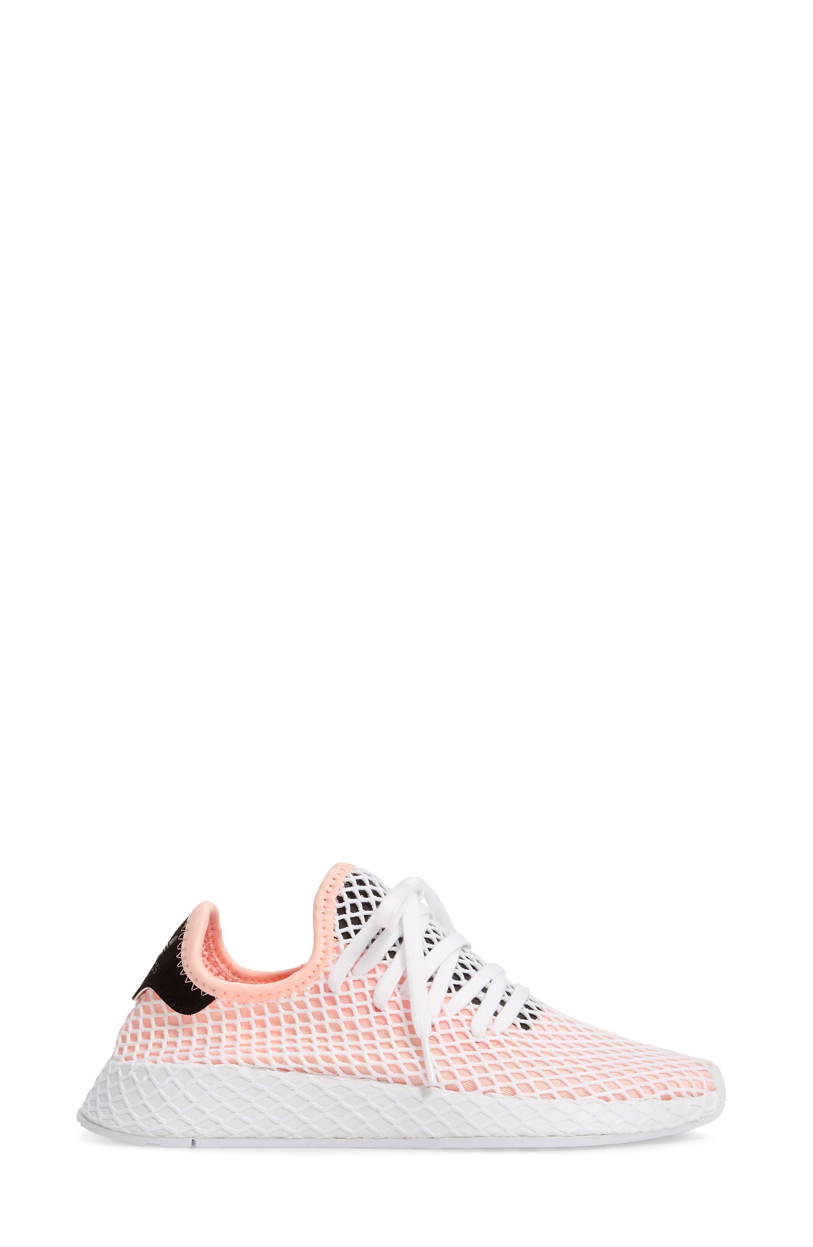 ADIDAS,                             Deerupt Runner Sneaker,                             Alternate thumbnail 3, color,                             660