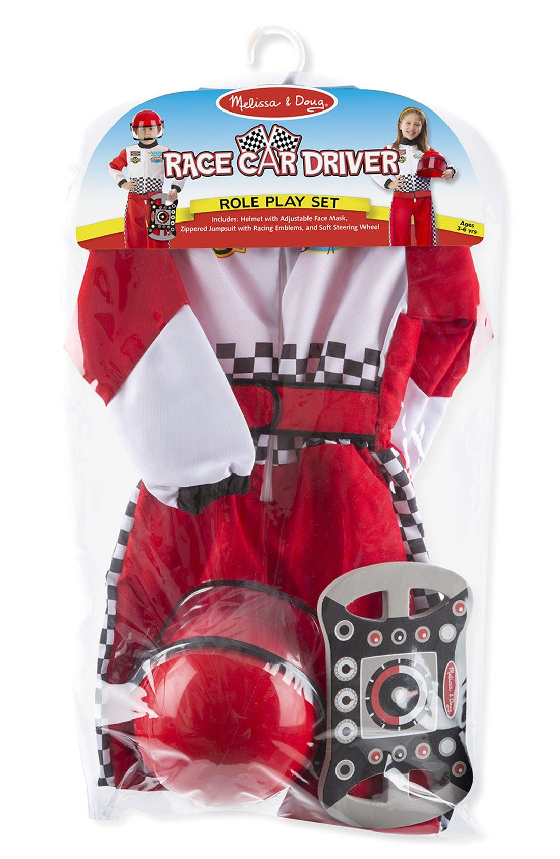 Race Car Driver Role Play Set,                             Alternate thumbnail 2, color,                             RED