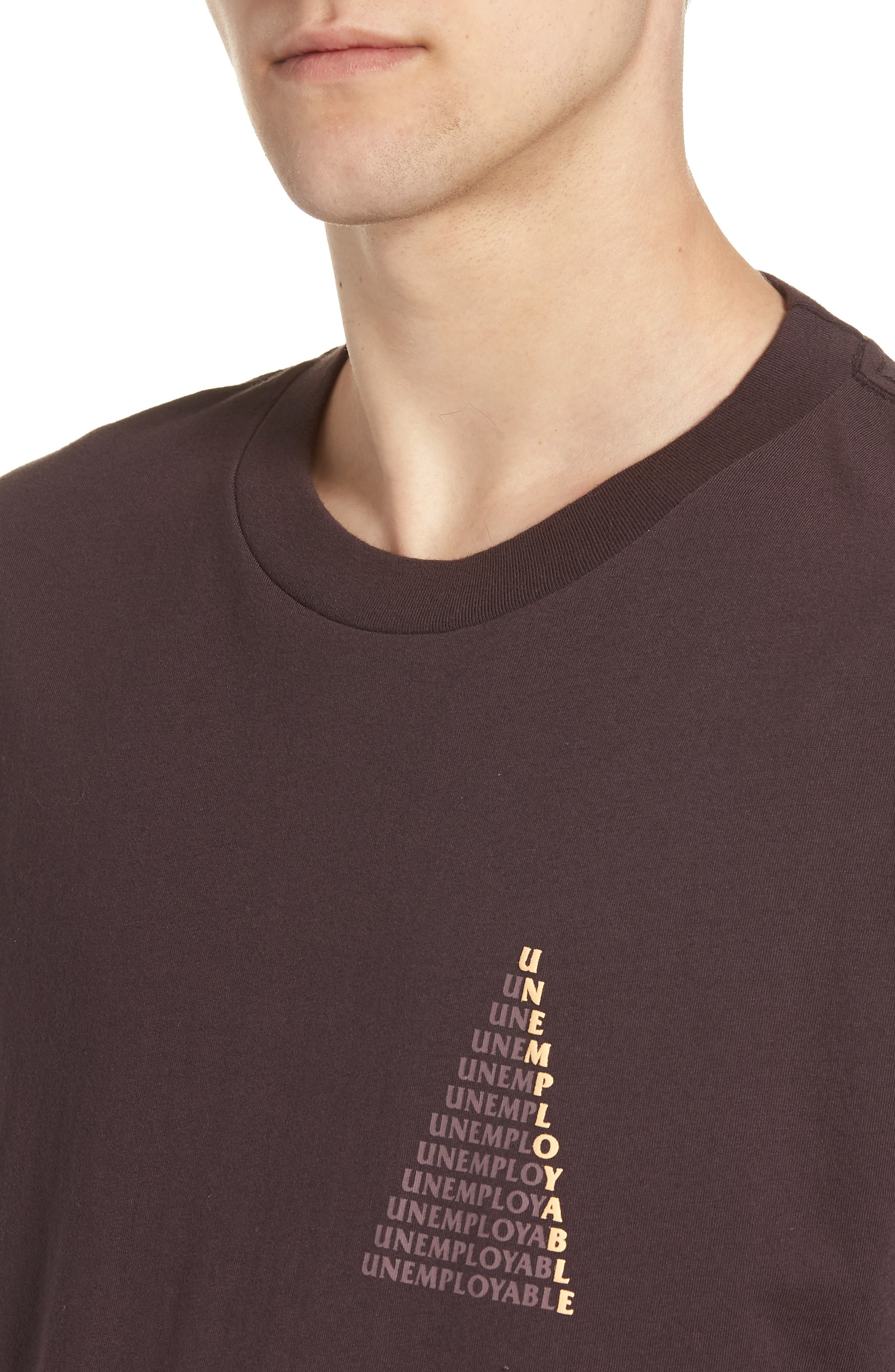 UE Pyramid T-Shirt,                             Alternate thumbnail 4, color,                             WINE