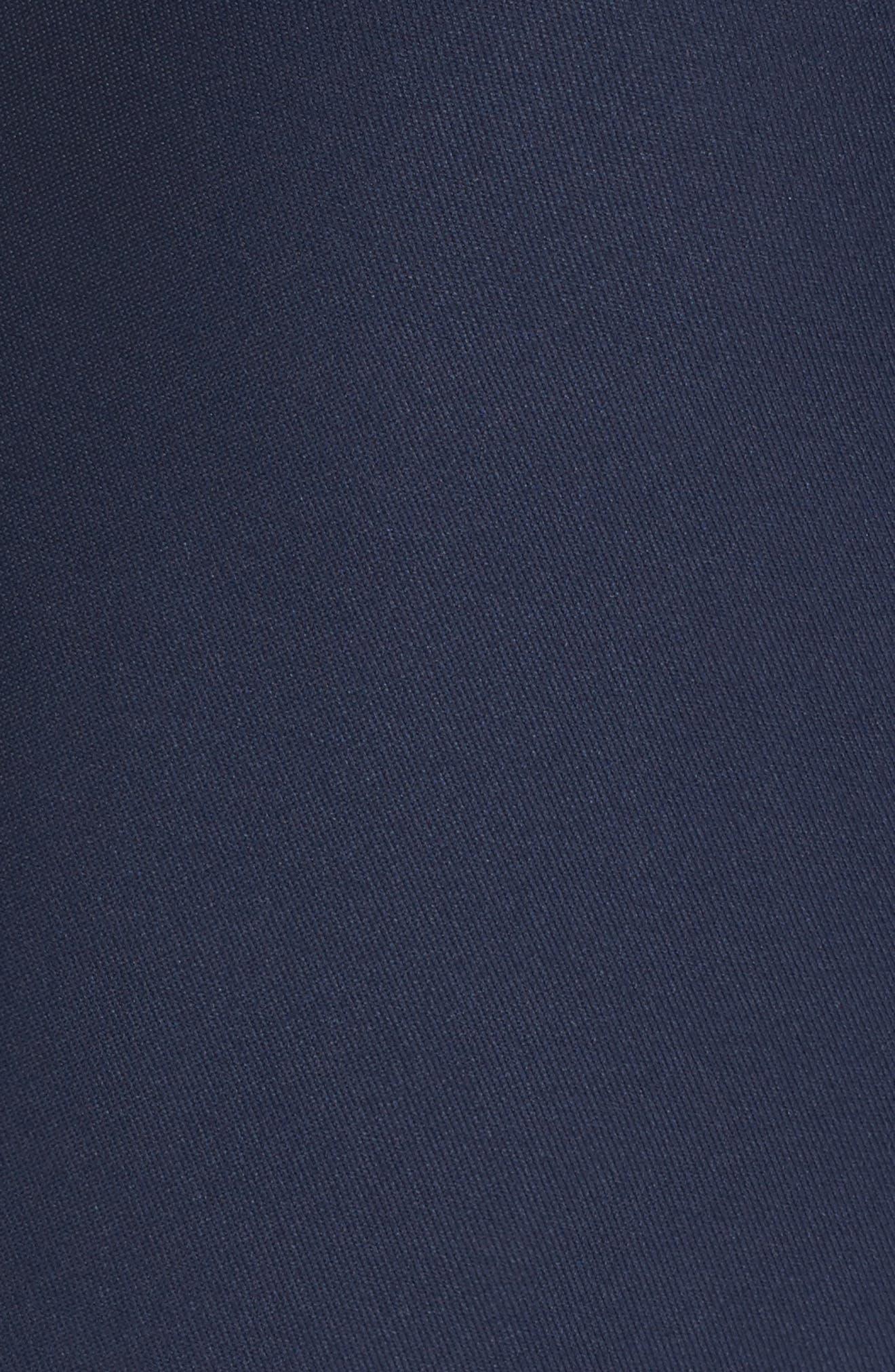 Azalea Flounce Hem Dress,                             Alternate thumbnail 5, color,                             400