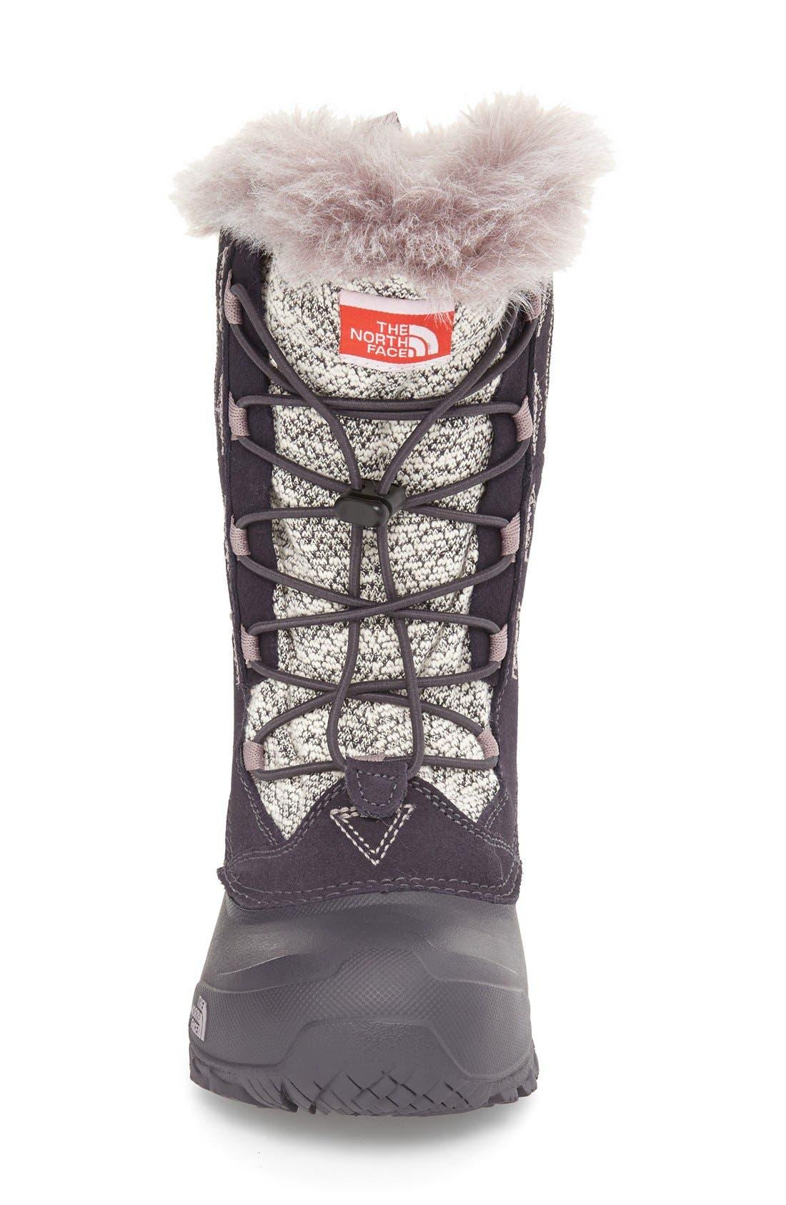 Shellista Lace II Waterproof Boot,                             Alternate thumbnail 4, color,                             021
