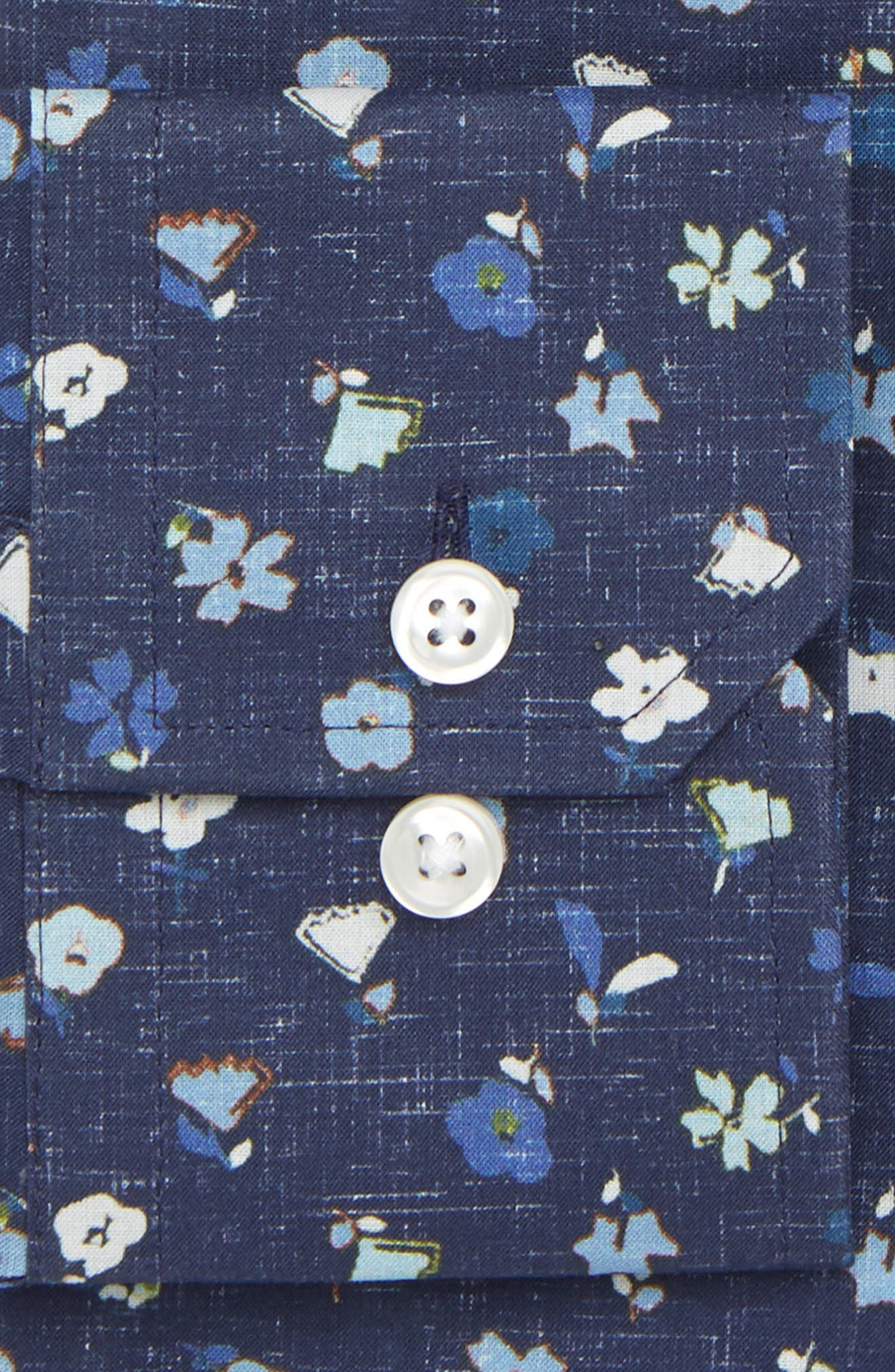 by Ilaria Urbinati Edmond Slim Fit Floral Dress Shirt,                             Alternate thumbnail 2, color,                             417