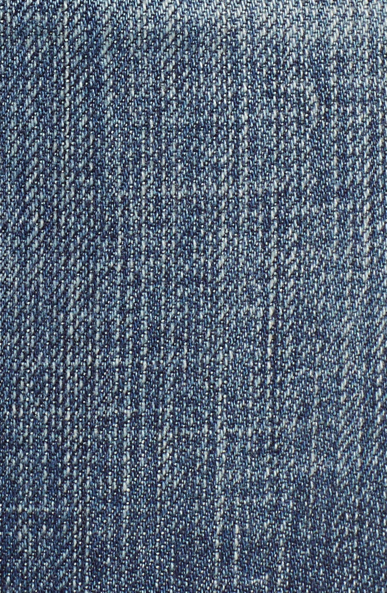 KUT Kollection Gidget Cutoff Denim Shorts,                             Alternate thumbnail 5, color,                             400
