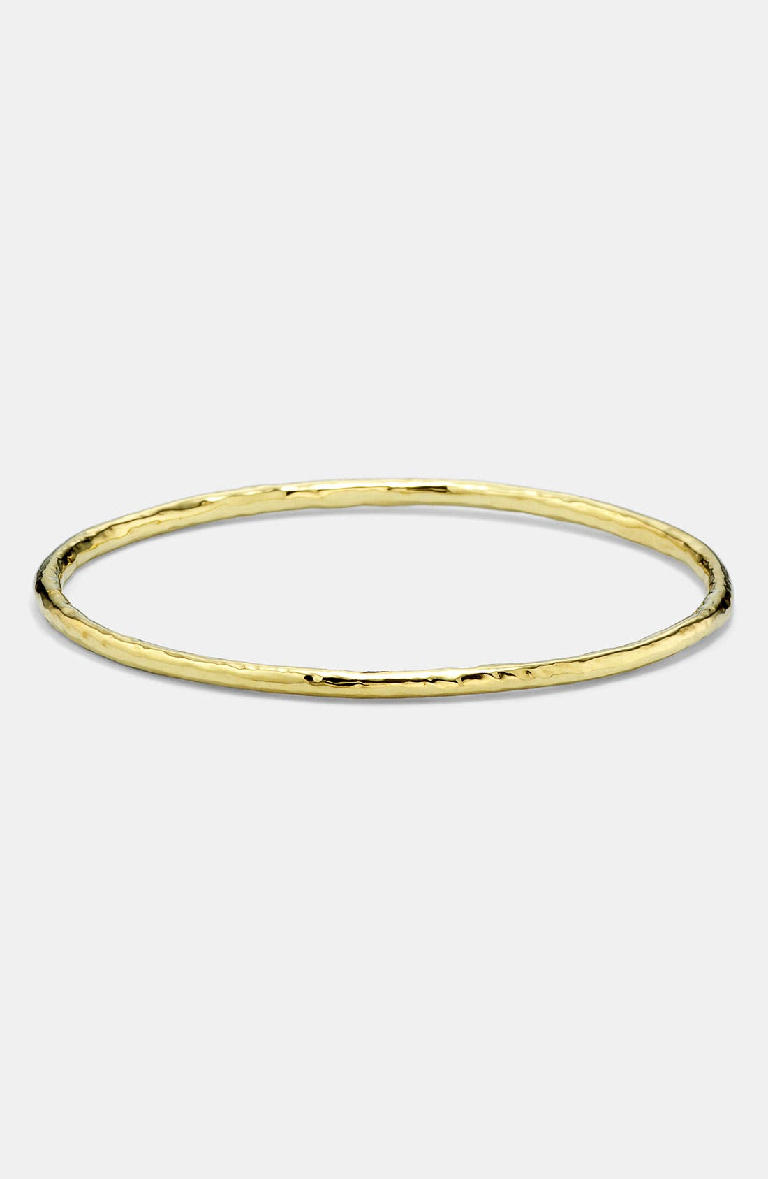 'Glamazon' 18k Gold Bangle, Main, color, YELLOW GOLD