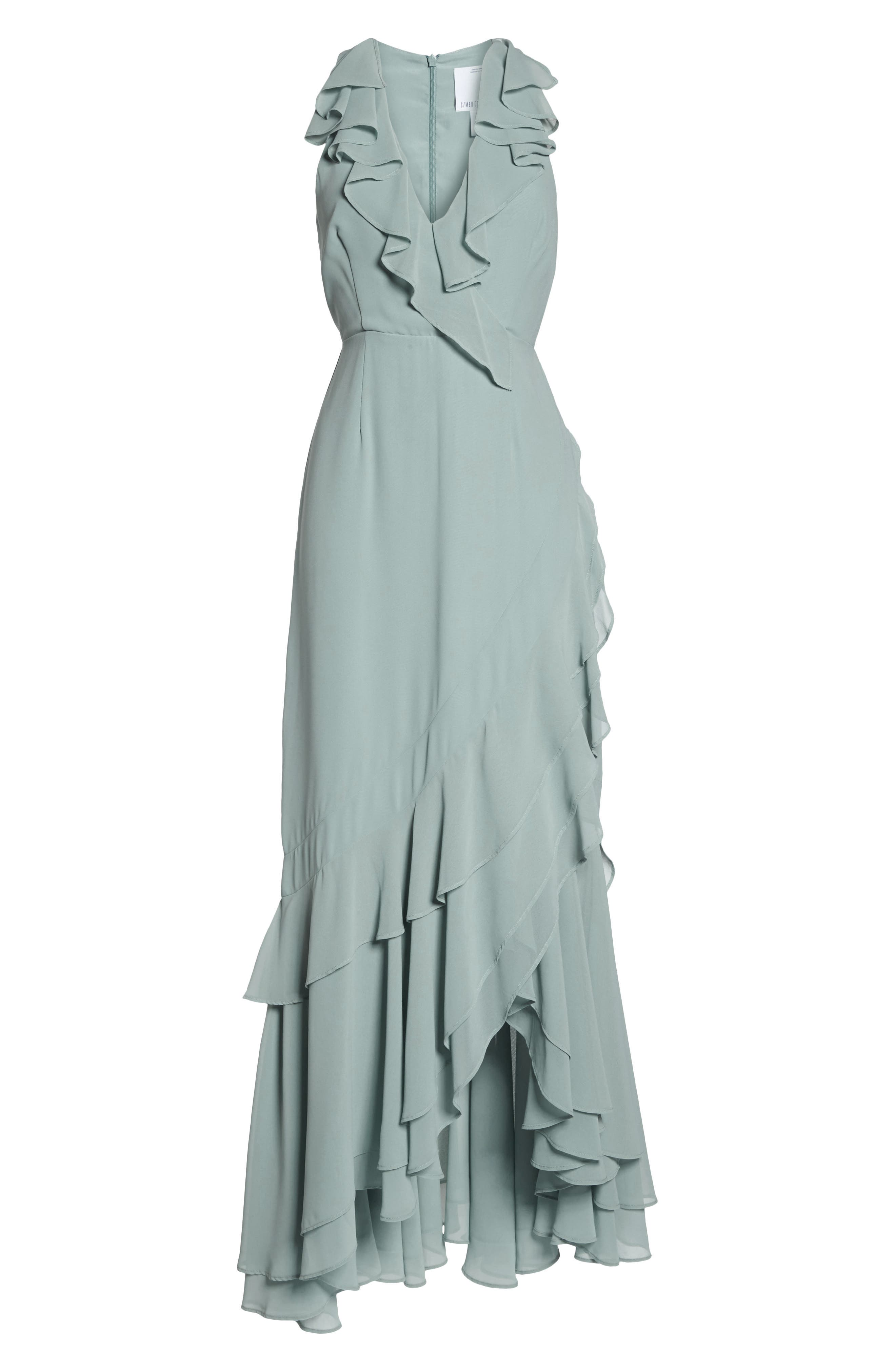 C/MEO Be About You Ruffle Gown,                             Alternate thumbnail 7, color,                             330