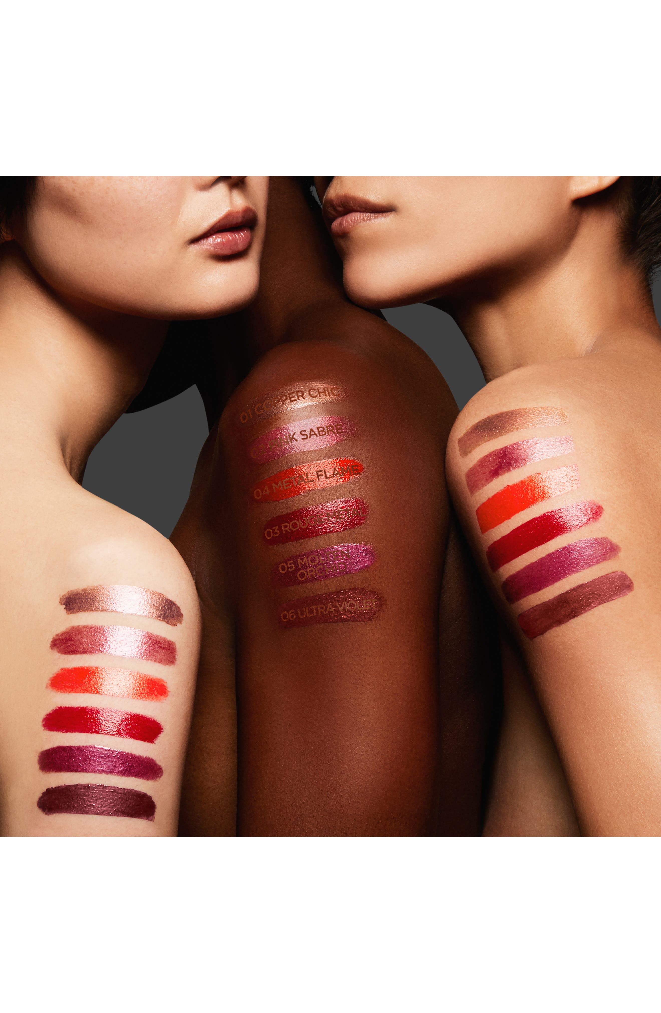 TOM FORD,                             Lip Lacquer,                             Alternate thumbnail 8, color,                             COPPER CHIC / METAL