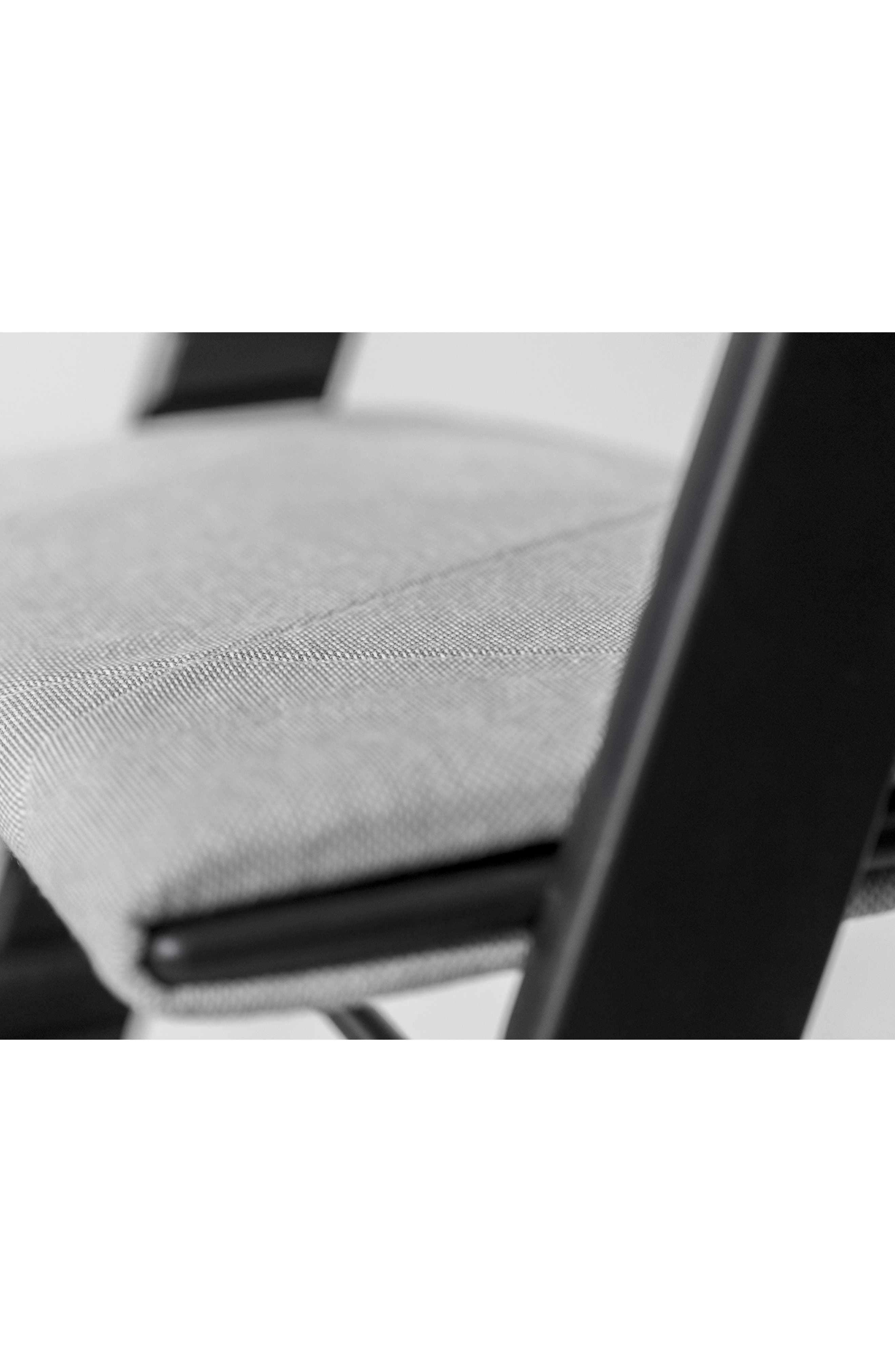 Seat Junior Cushion for Tripp Trapp<sup>®</sup> Chair,                             Alternate thumbnail 7, color,                             SLATE TWILL