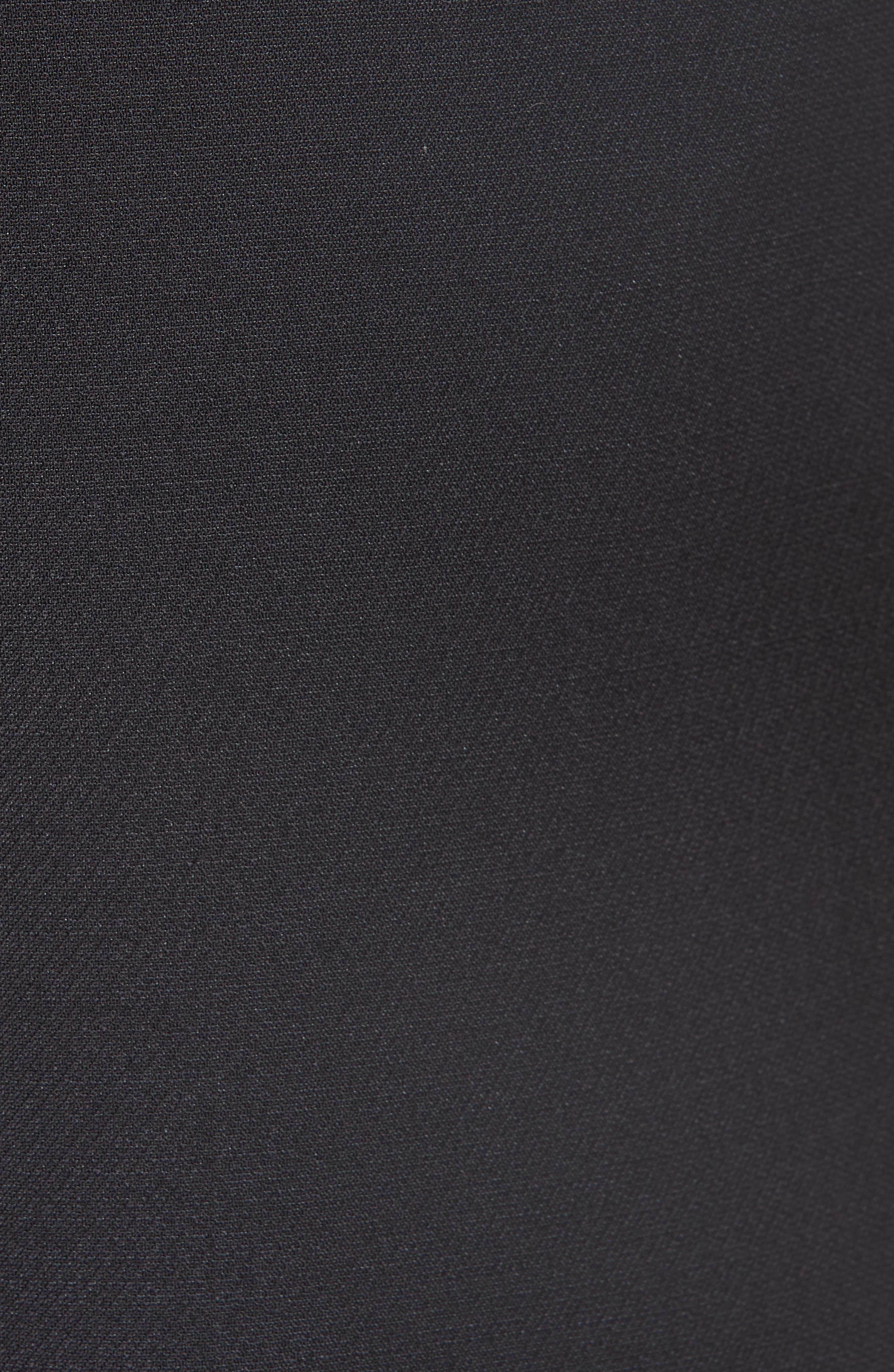 Wool & Silk Culottes,                             Alternate thumbnail 5, color,                             001