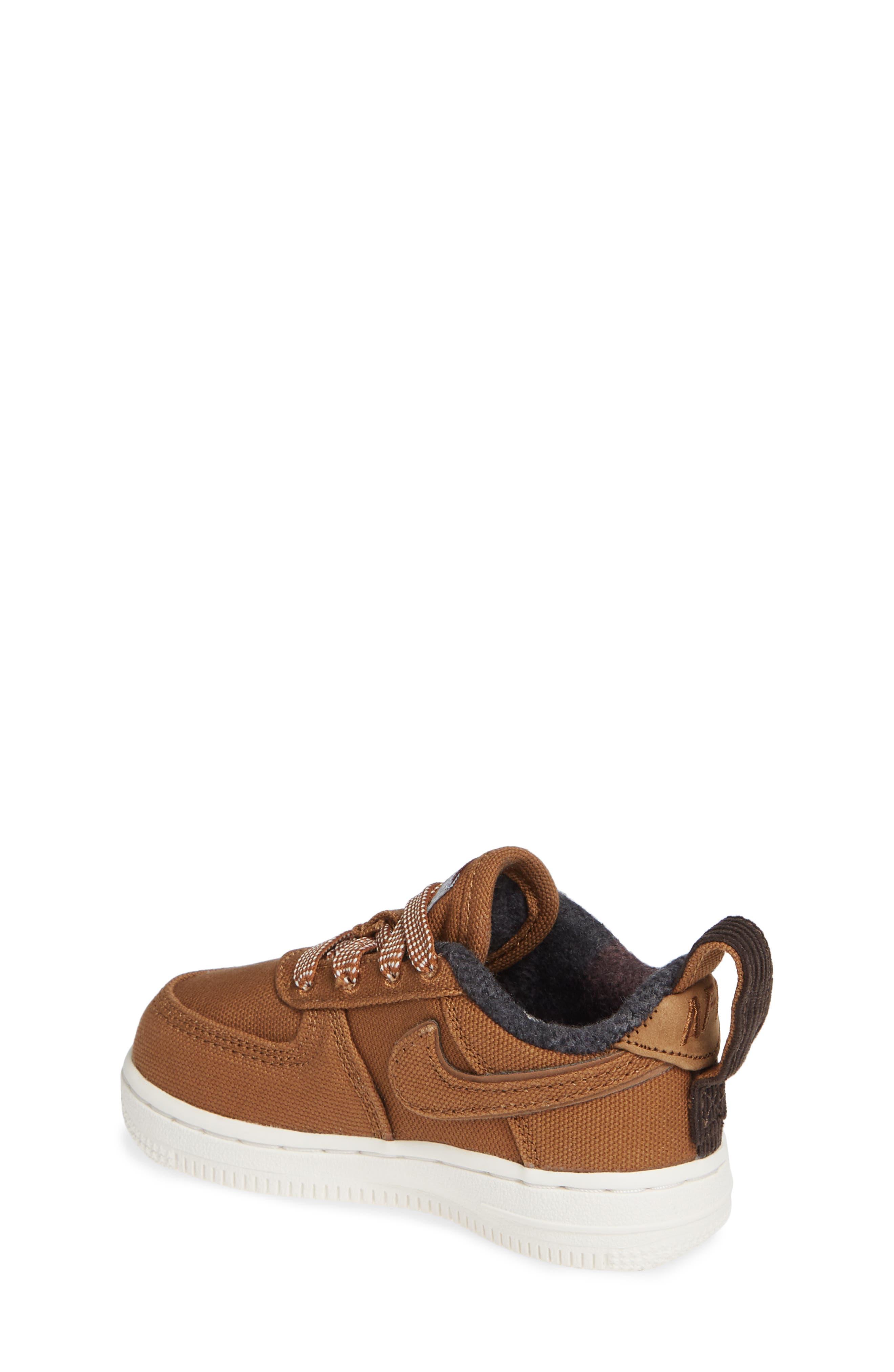x Carhartt Air Force 1 Premium Sneaker,                             Alternate thumbnail 2, color,                             ALE BROWN/ ALE BROWN-SAIL