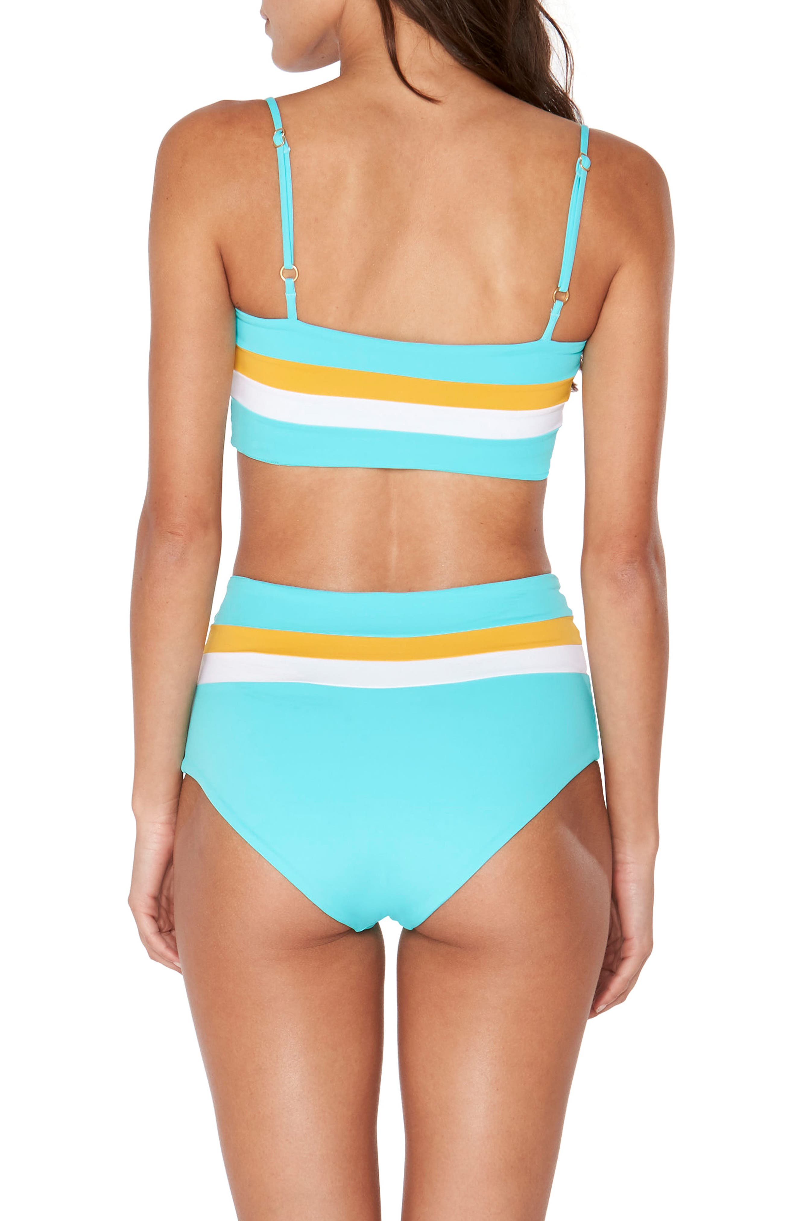 Portia Reversible Colorblock Bikini Bottoms,                             Alternate thumbnail 13, color,
