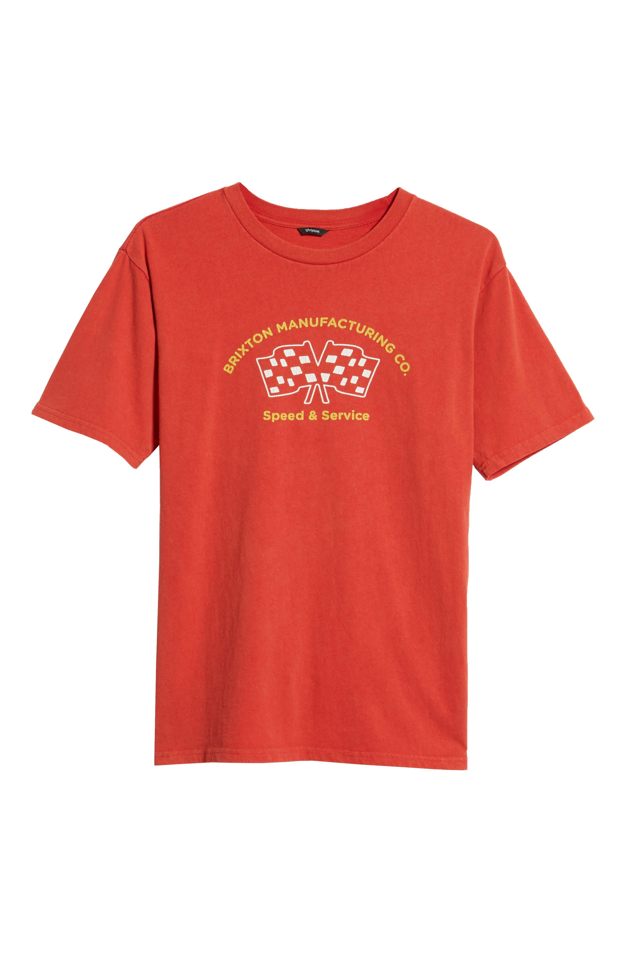 Burnout Graphic T-Shirt,                             Alternate thumbnail 6, color,