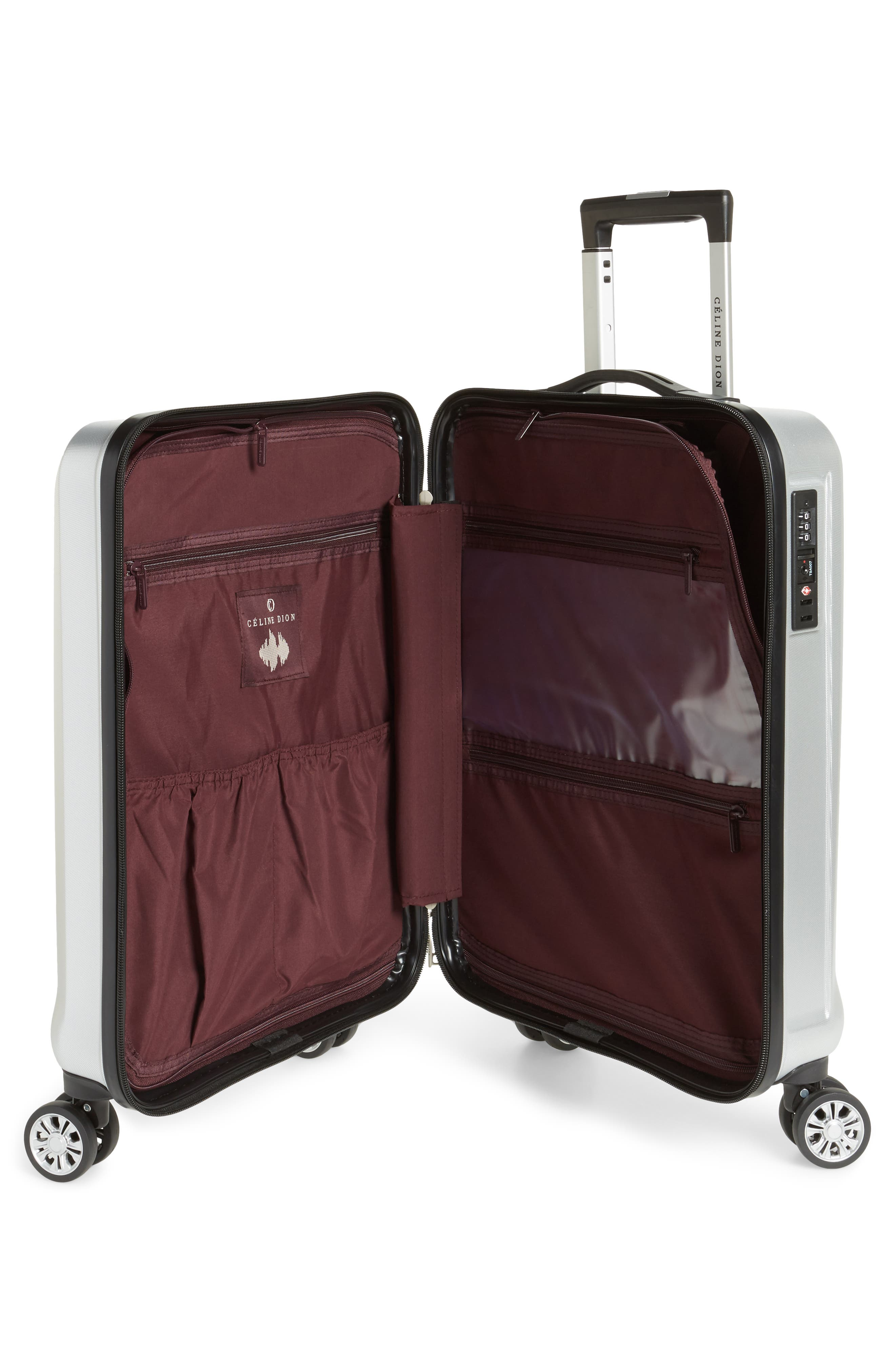 Céline Dion Timbre 2-Piece Rolling Hard-Shell Luggage Set,                             Alternate thumbnail 2, color,                             040