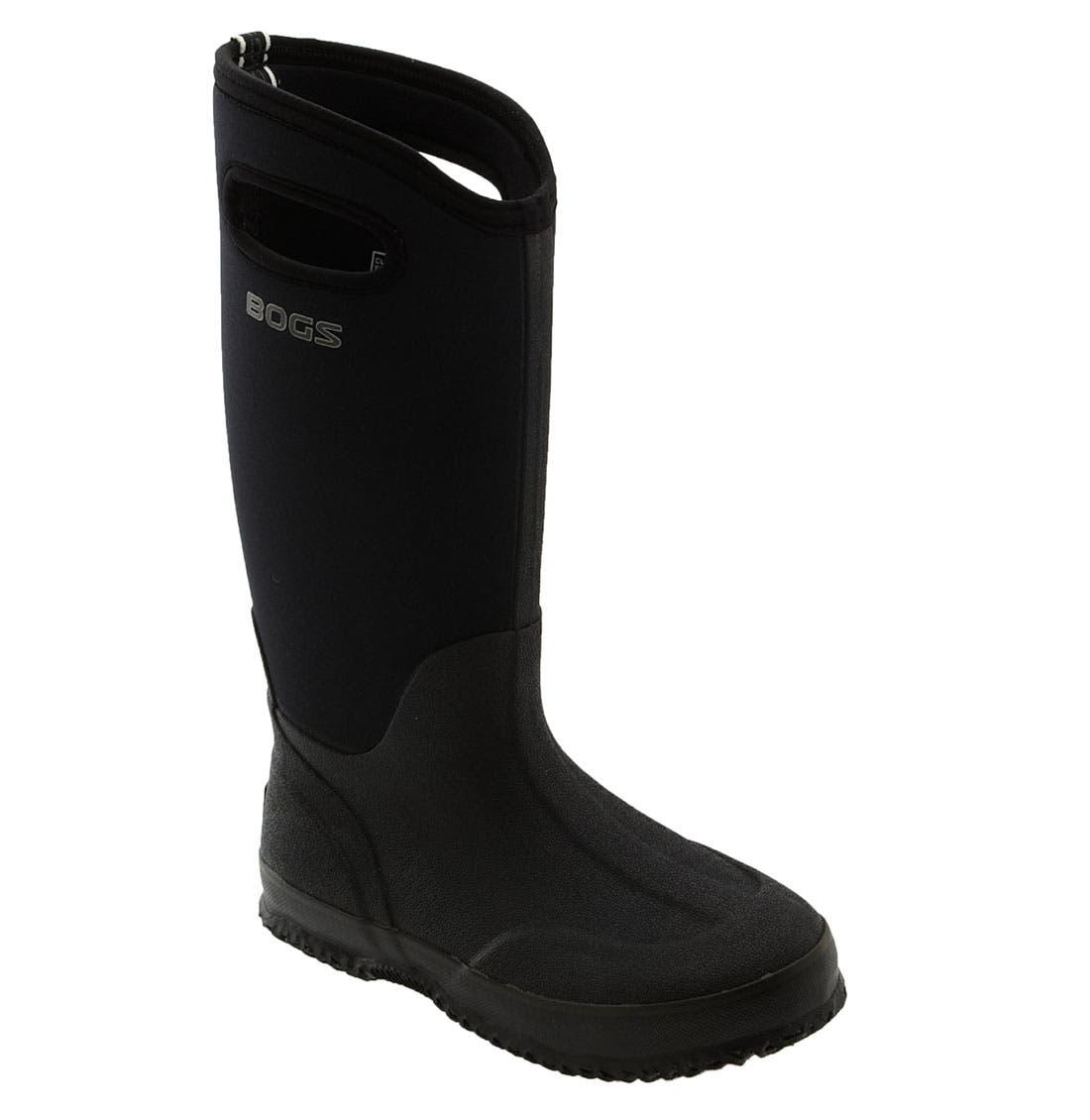 'Classic' Tall Rain Boot,                         Main,                         color, 001