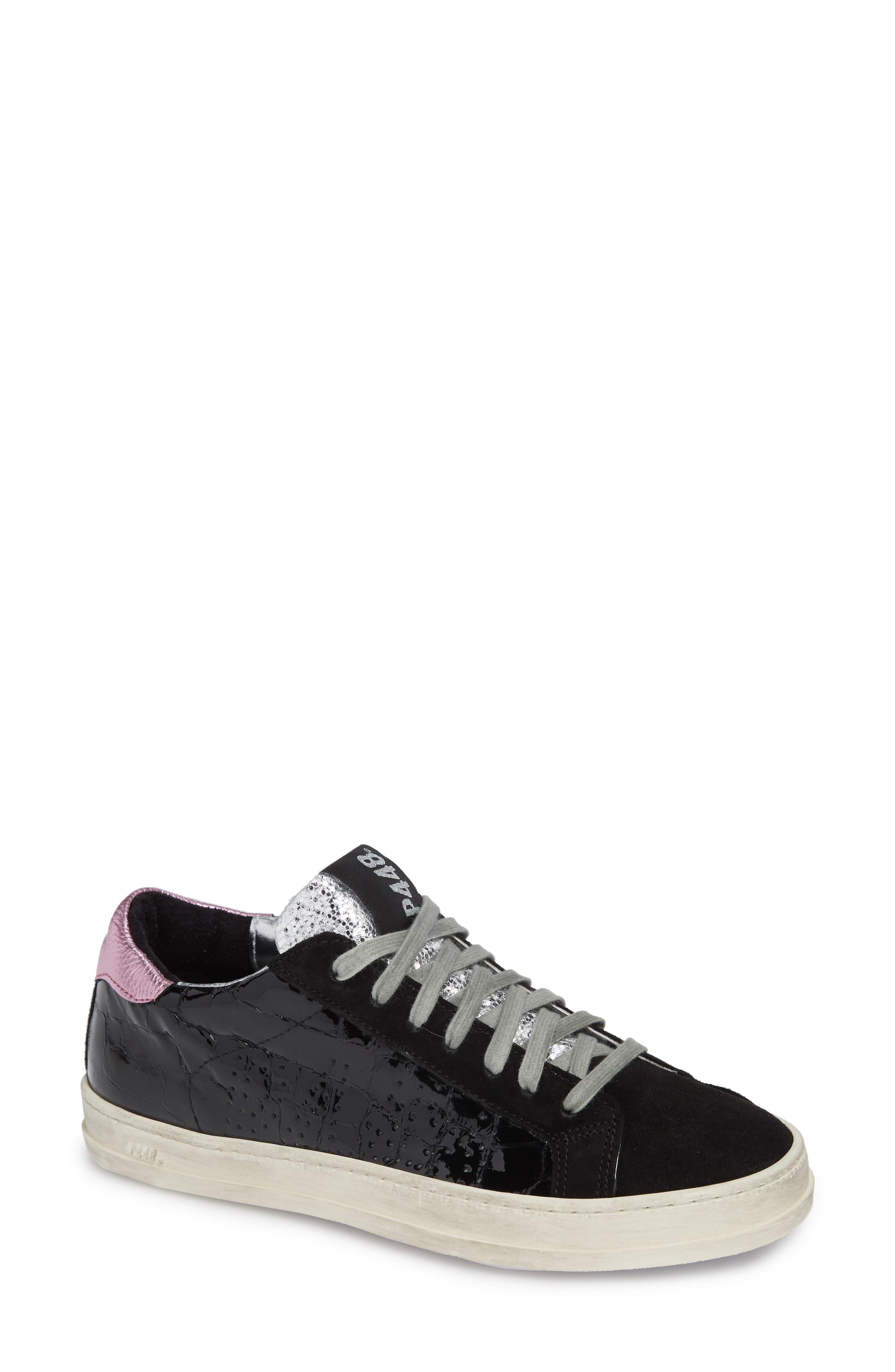 John Sneaker,                             Main thumbnail 1, color,                             VYNIL BLACK