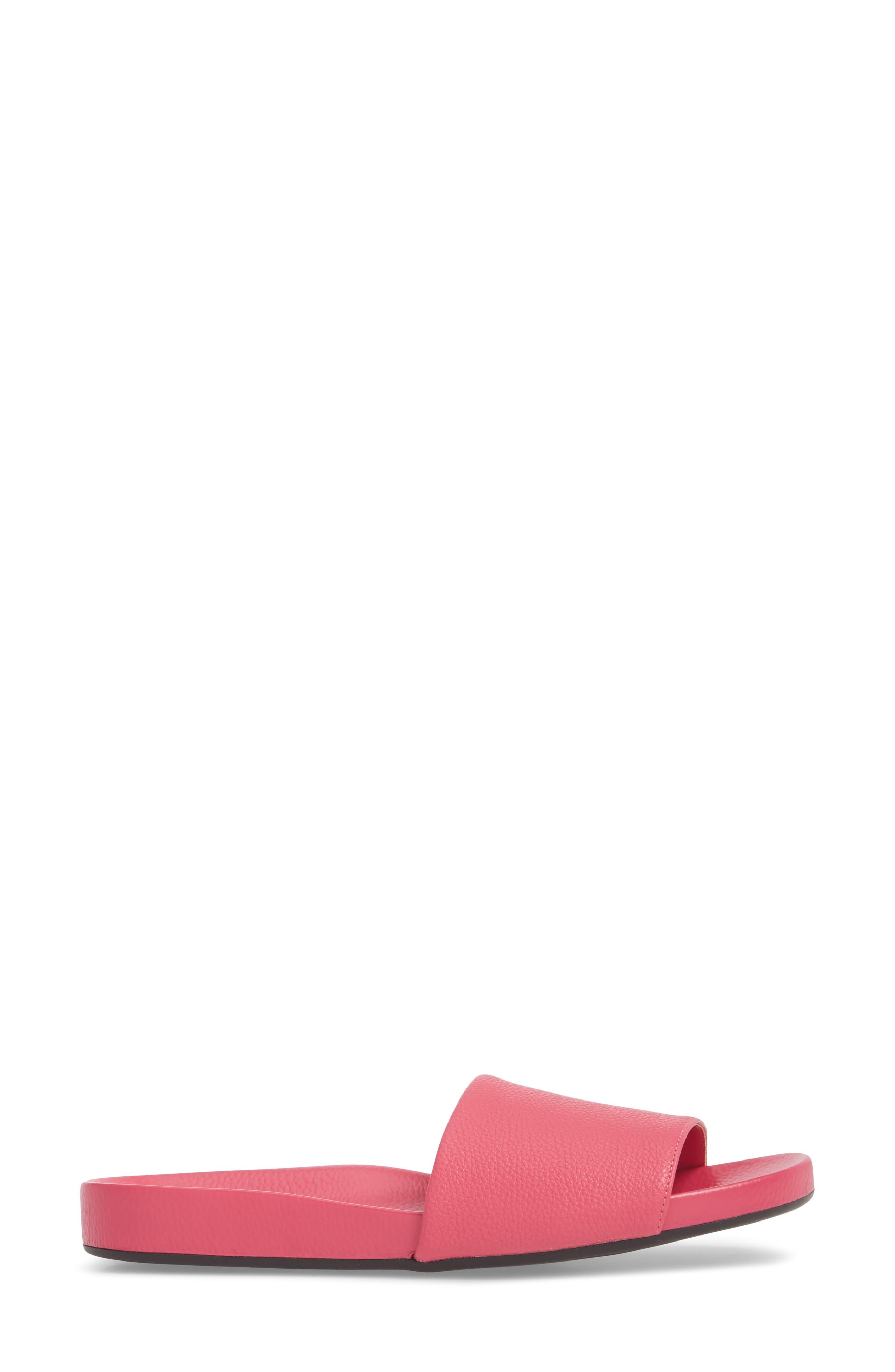 Homie Refined Slide Sandal,                             Alternate thumbnail 3, color,                             PINK