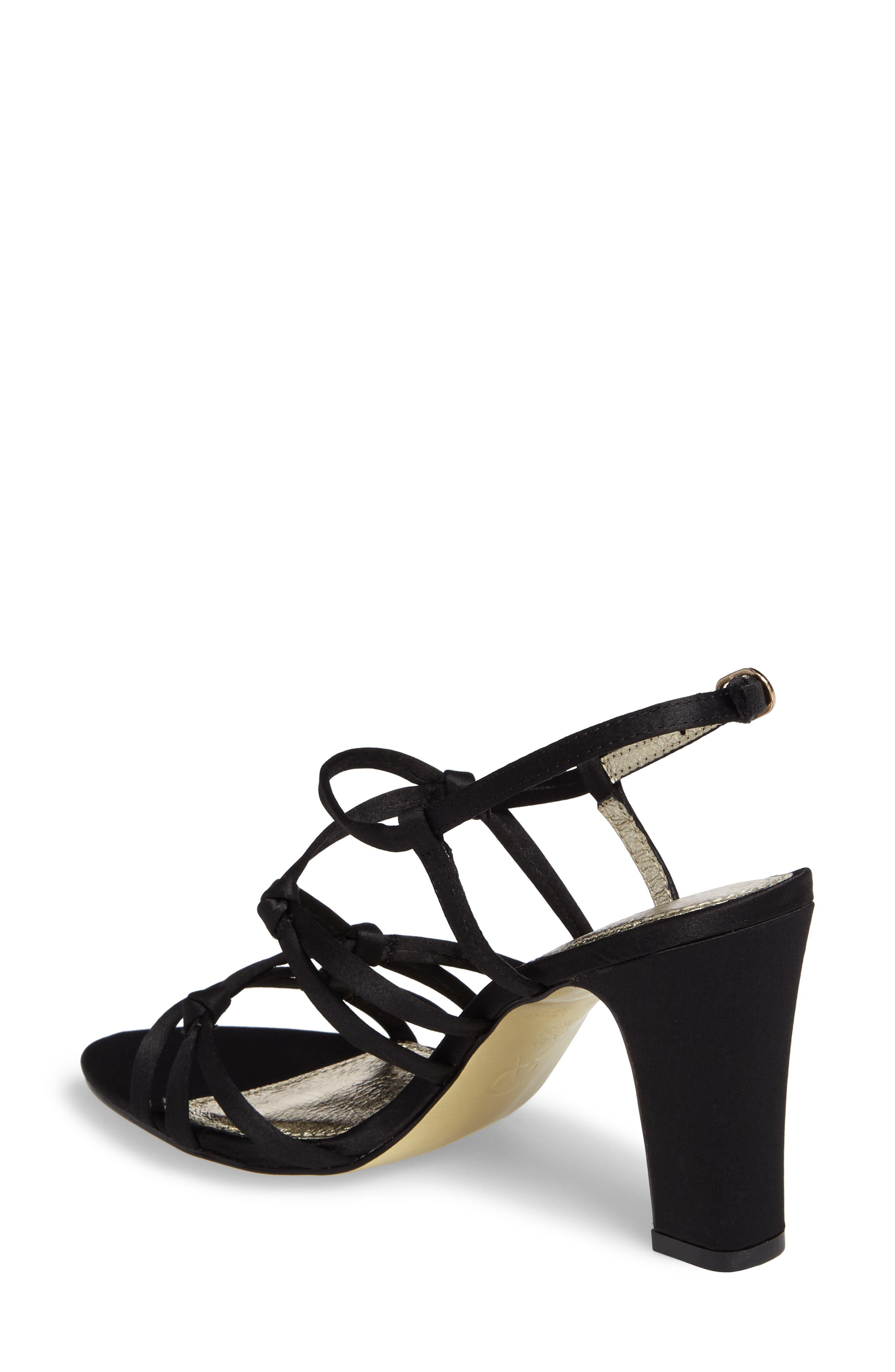 Adelson Knotted Strappy Sandal,                             Alternate thumbnail 2, color,                             001