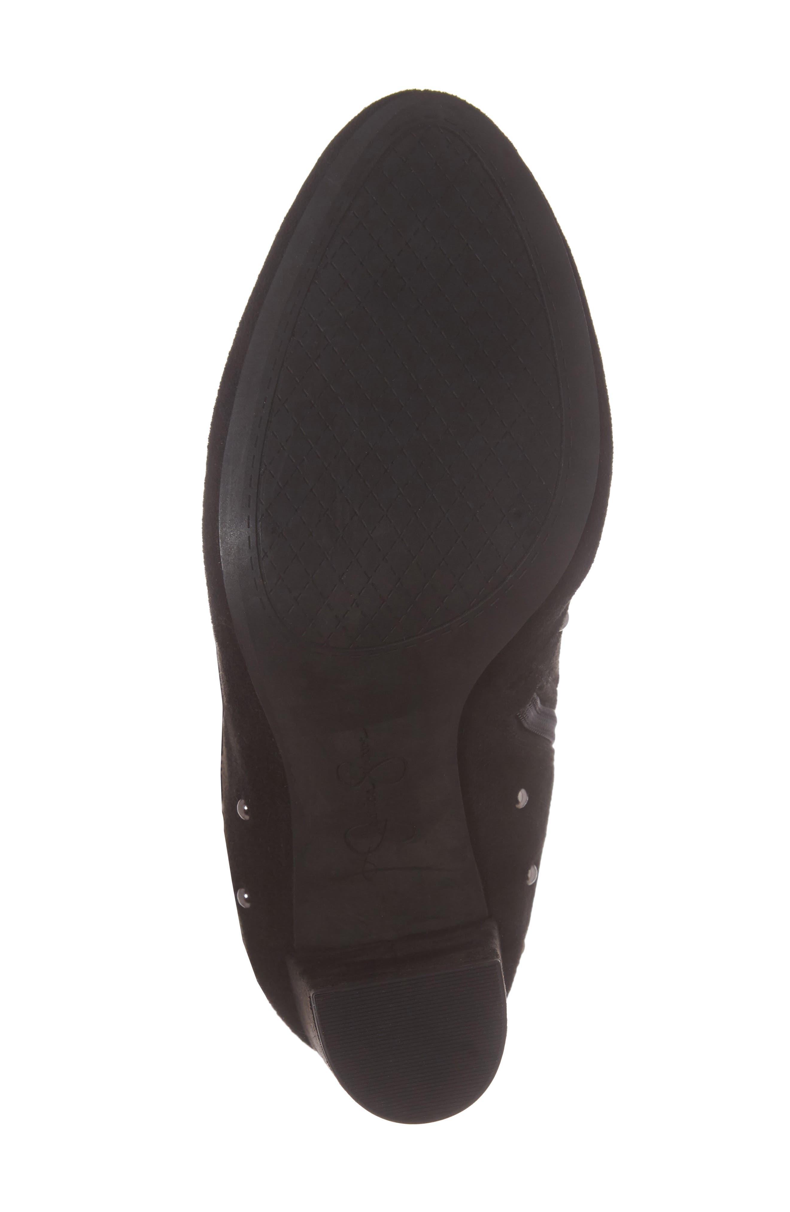 Bressy Studded Over the Knee Boot,                             Alternate thumbnail 6, color,                             001