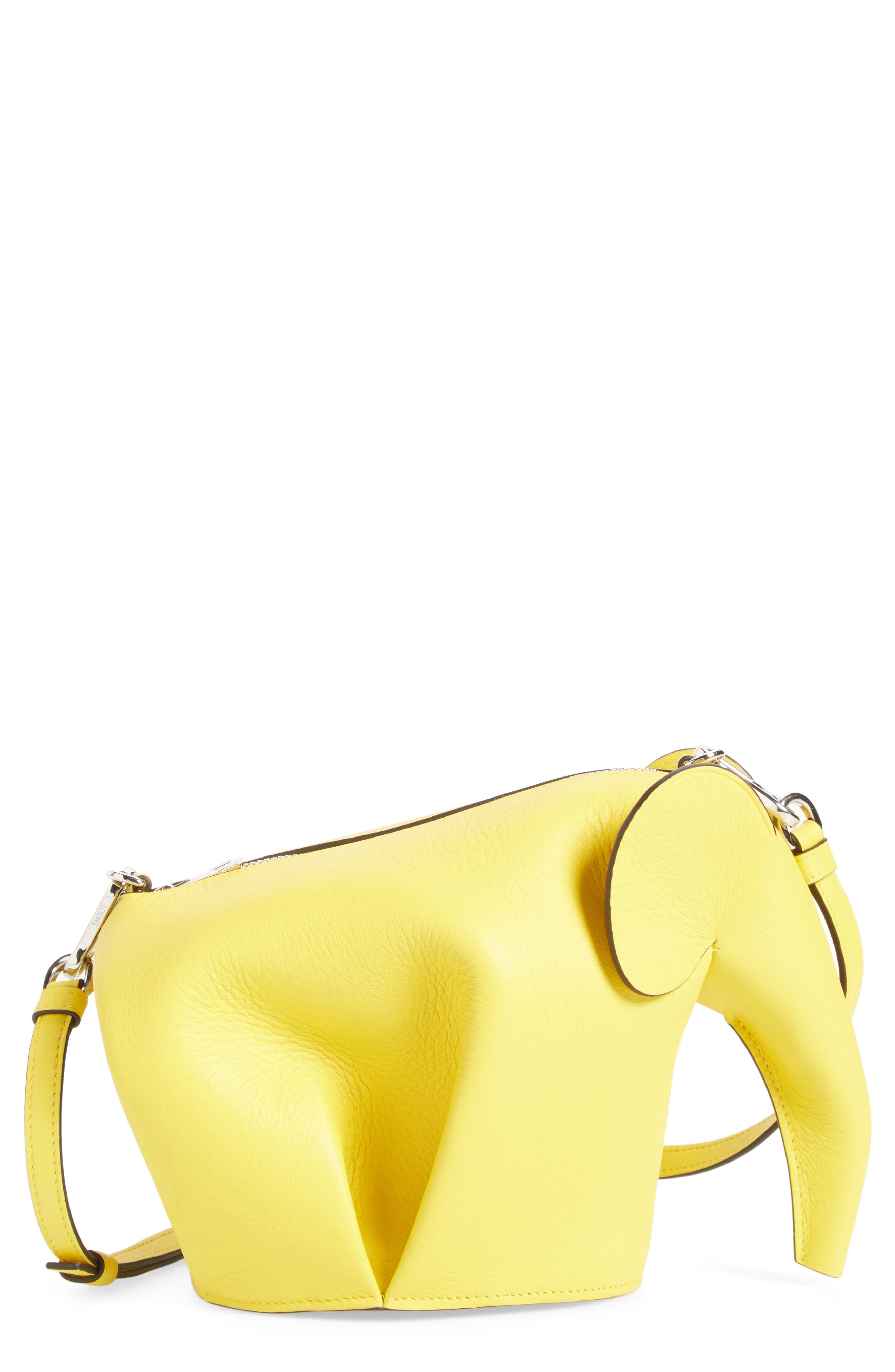 'Mini Elephant' Crossbody Bag,                             Main thumbnail 9, color,
