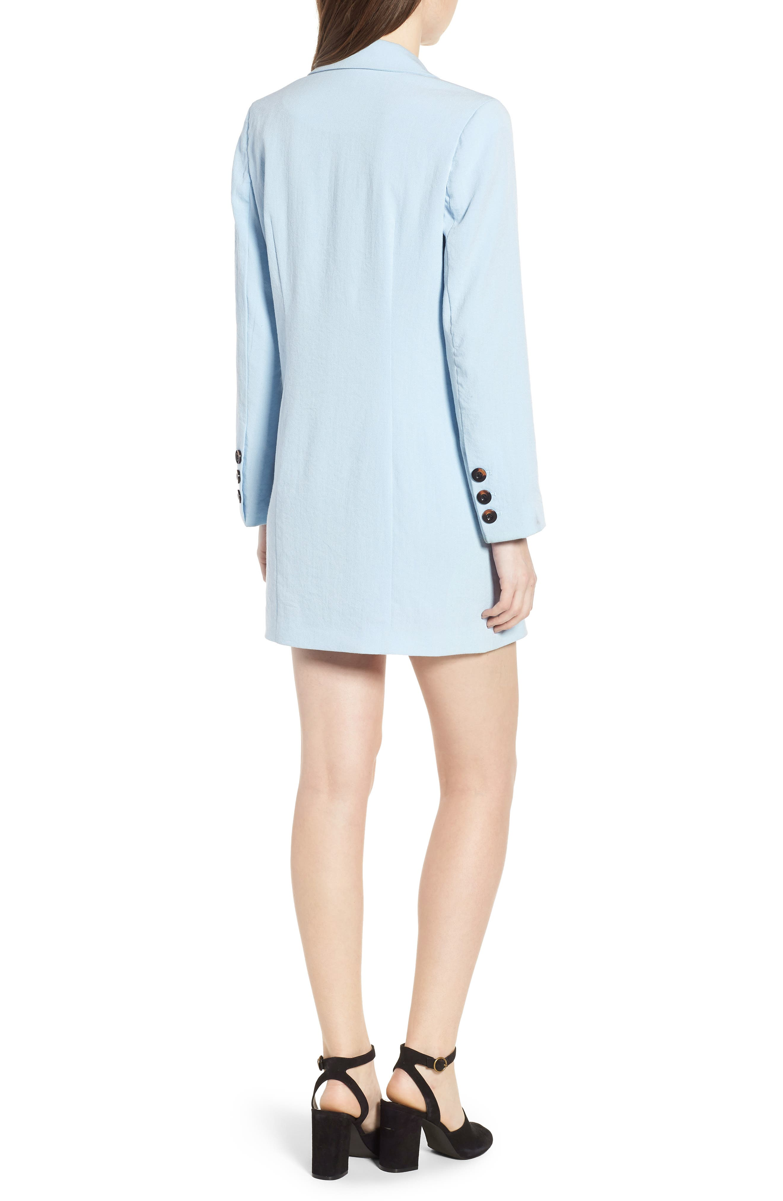 Kaia Blazer Dress,                             Alternate thumbnail 2, color,                             400