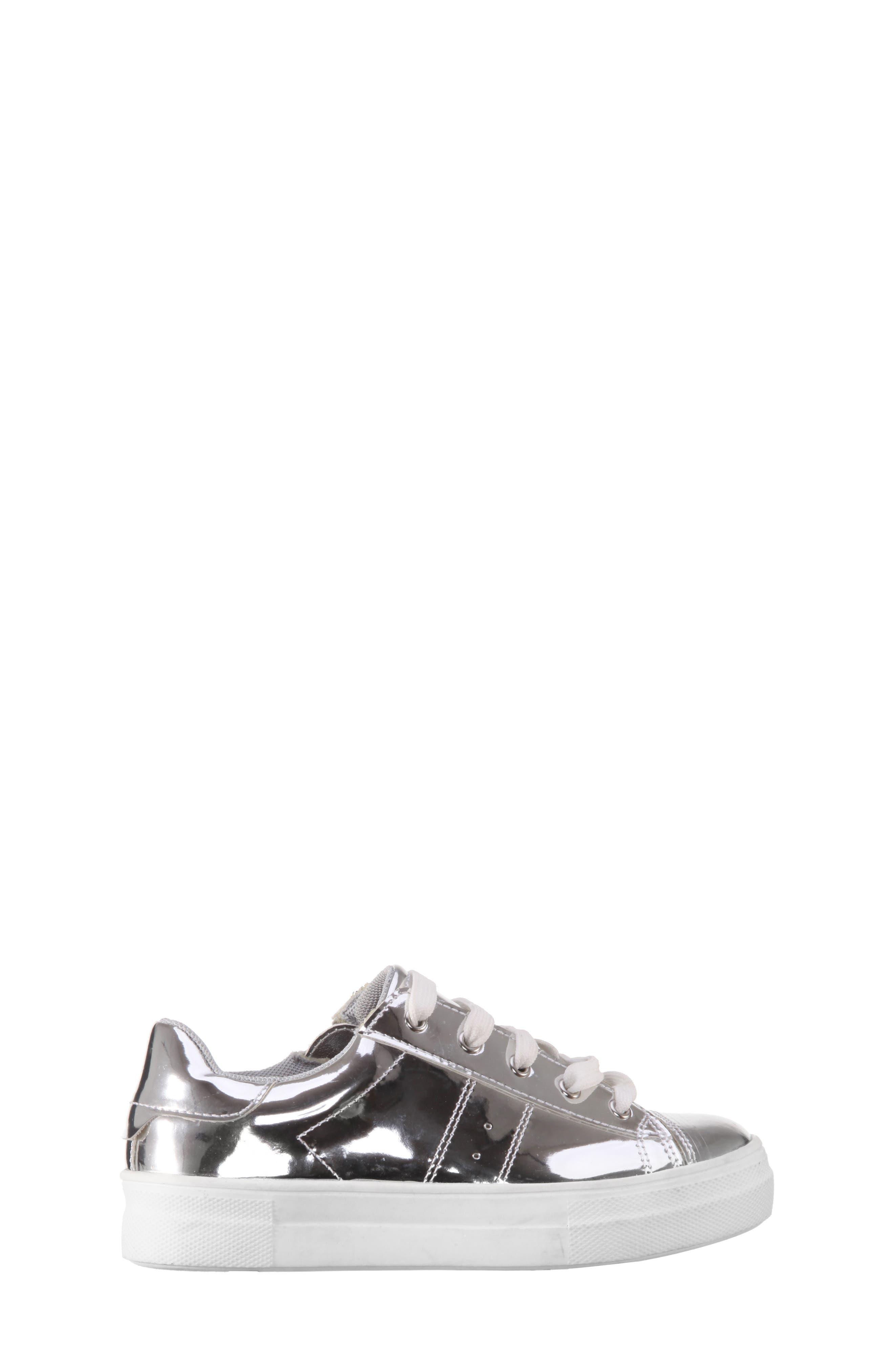 Rochella Metallic Sneaker,                             Alternate thumbnail 3, color,                             048