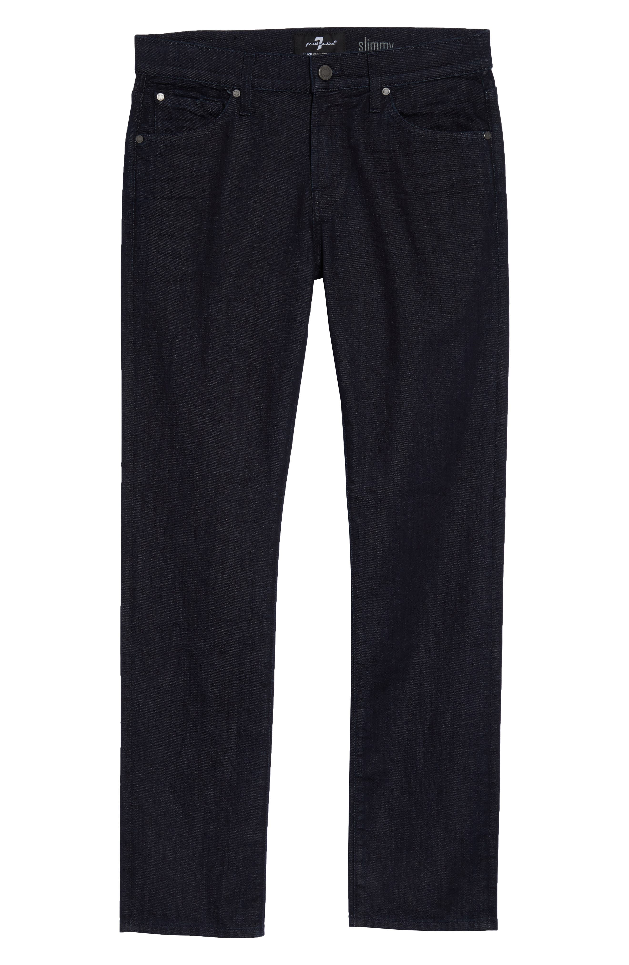7 FOR ALL MANKIND<SUP>®</SUP>,                             'Slimmy - Luxe Performance' Slim Fit Jeans,                             Alternate thumbnail 2, color,                             400
