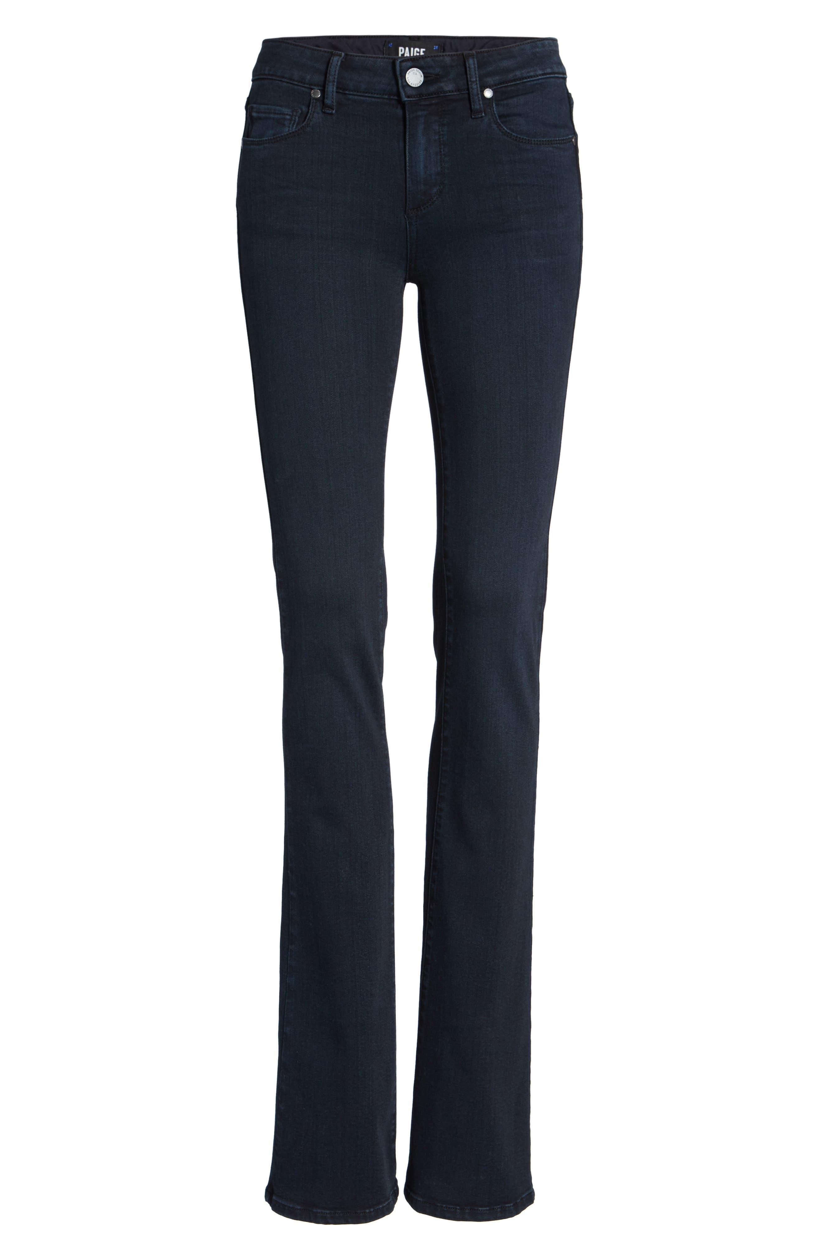 Manhattan High Waist Bootcut Jeans,                             Alternate thumbnail 12, color,