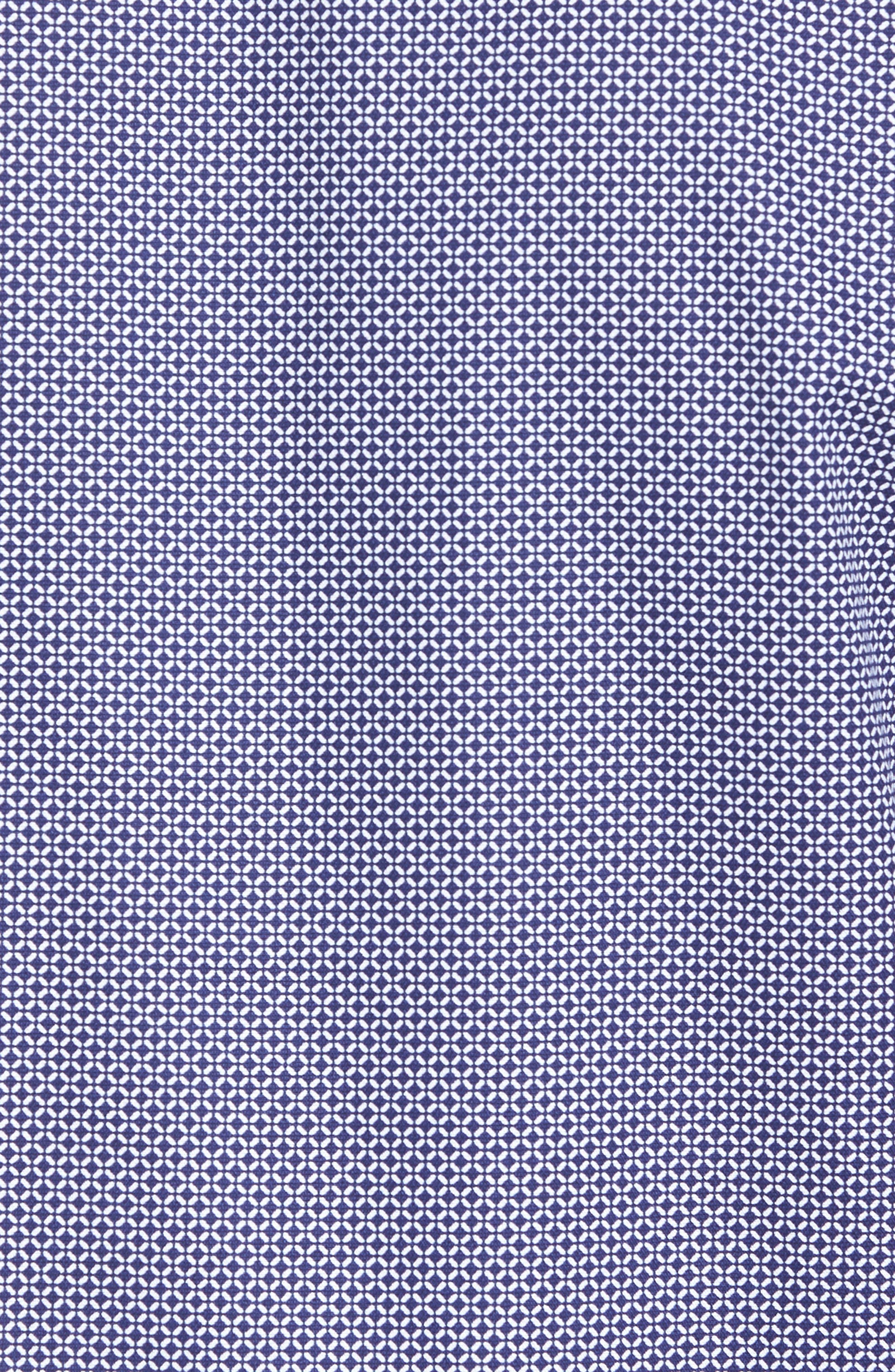 Trim Fit Micro Collar Sport Shirt,                             Alternate thumbnail 5, color,                             410