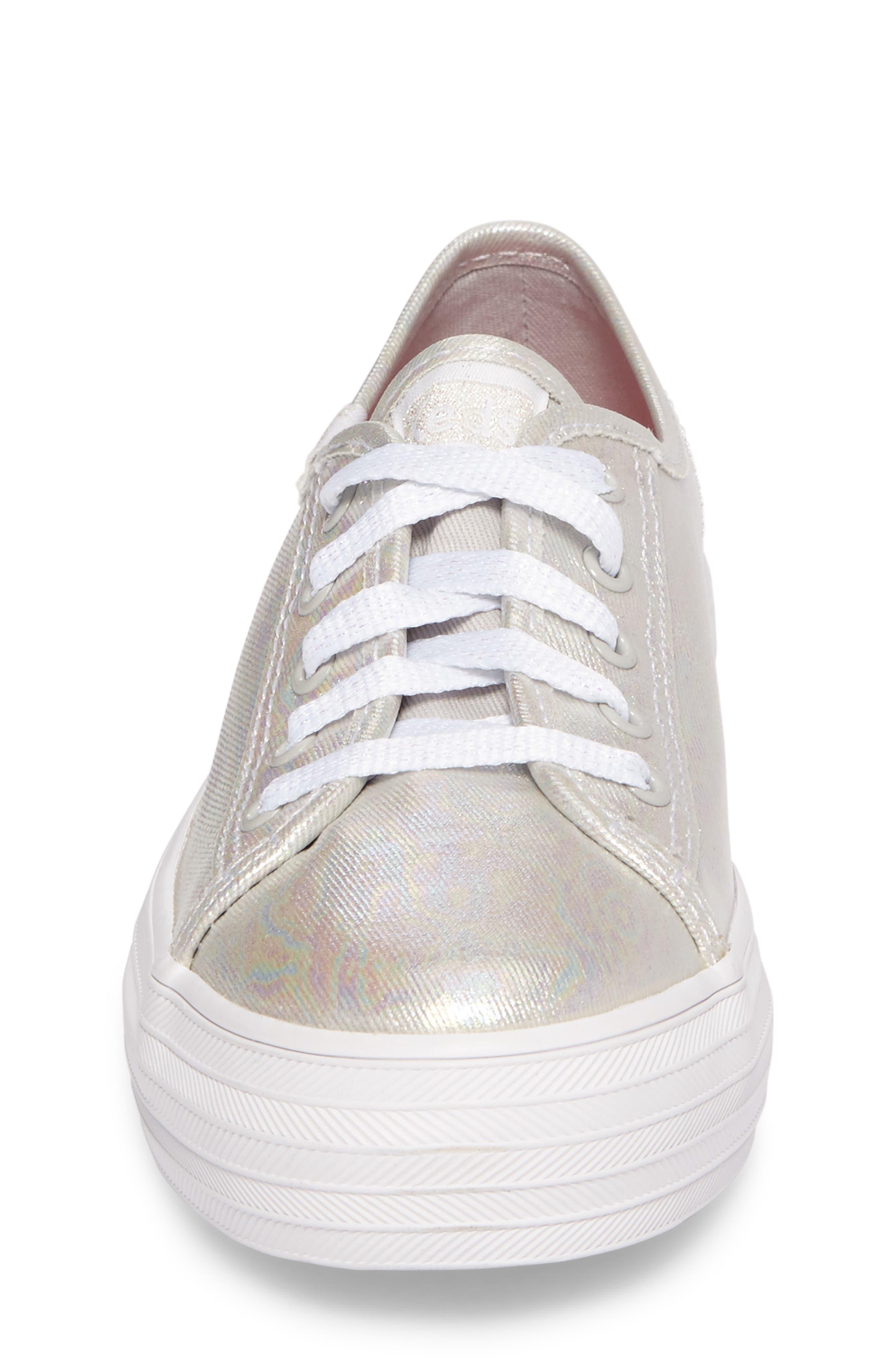 Triple Kick Platform Sneaker,                             Alternate thumbnail 4, color,                             020