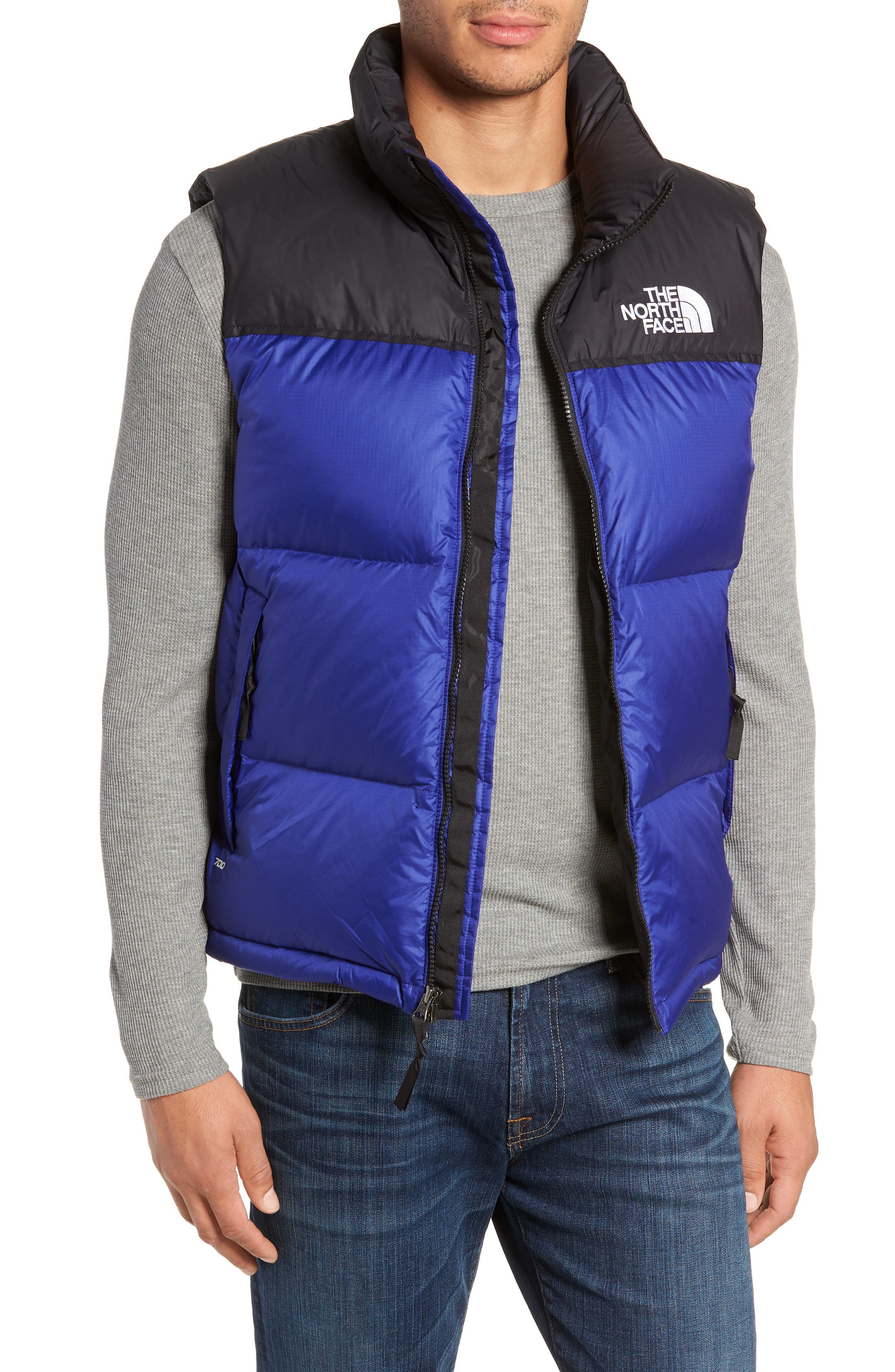 The North Face Nuptse 1996 Packable Quilted Down Vest, Blue