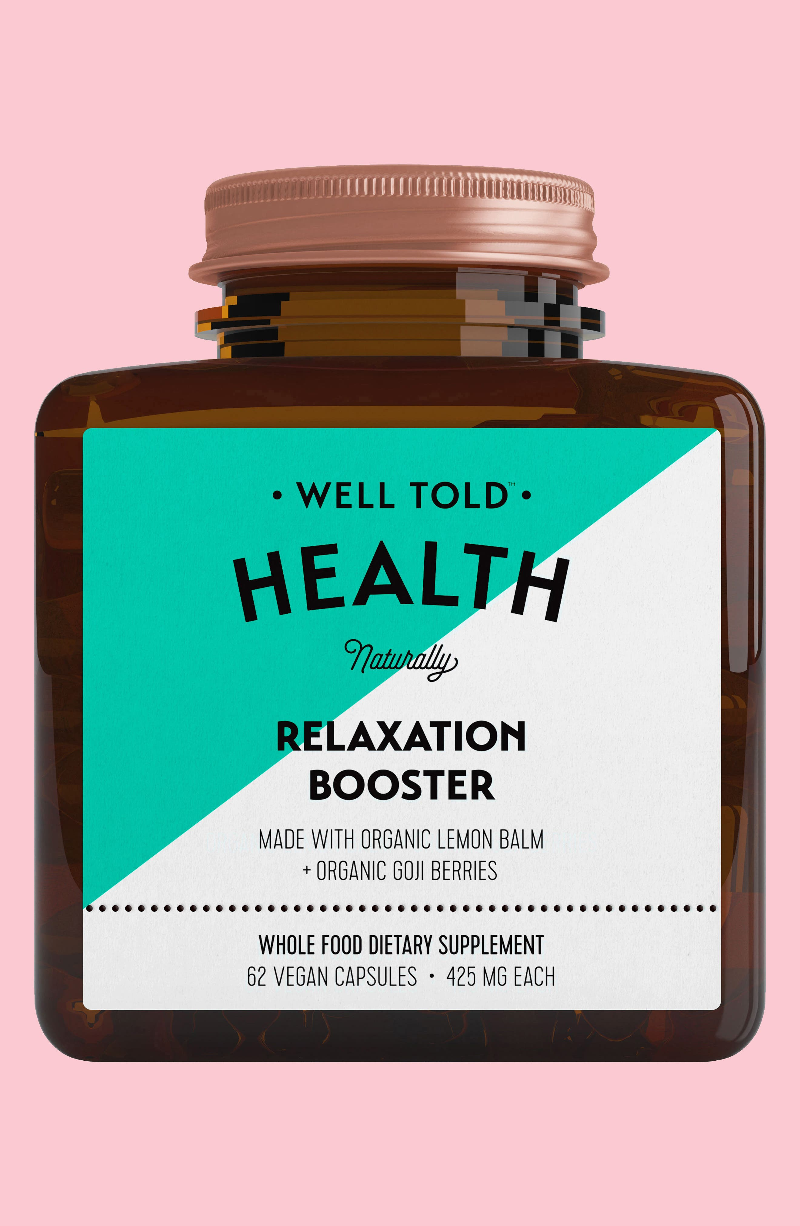 Relaxation Booster Dietary Supplement,                             Main thumbnail 1, color,                             440