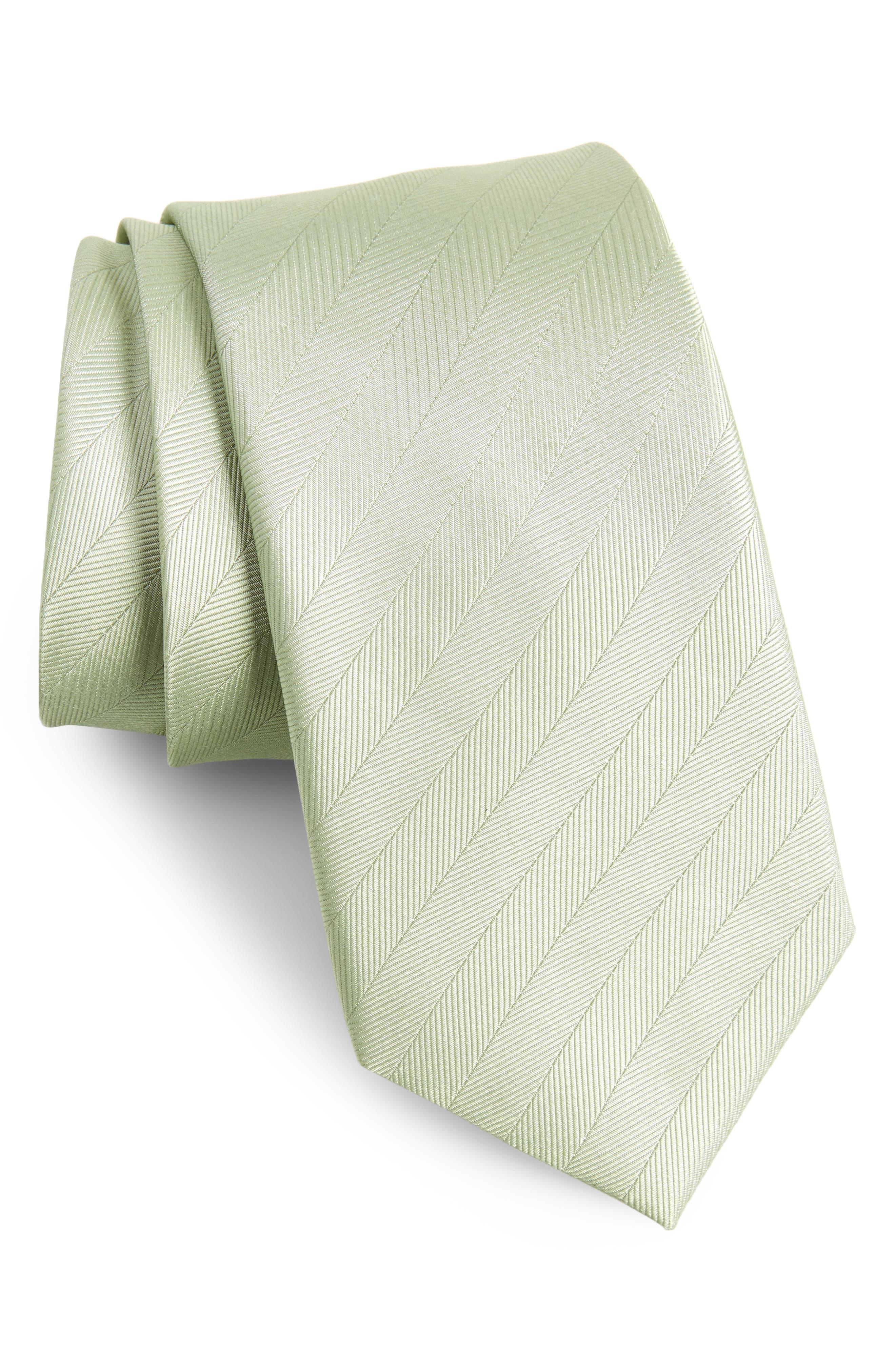 Herringbone Silk Tie,                             Main thumbnail 3, color,