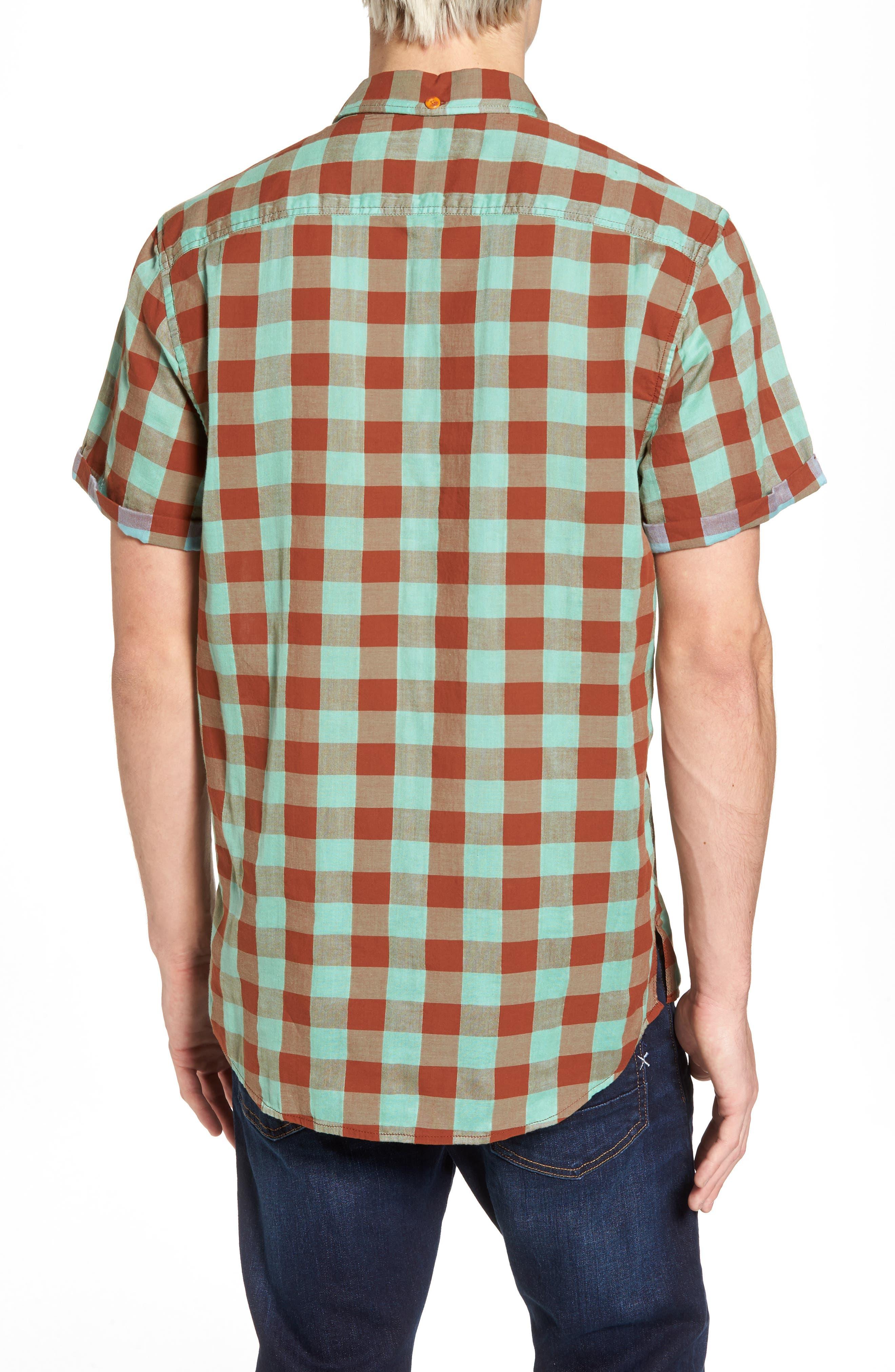 Check Woven Shirt,                             Alternate thumbnail 2, color,