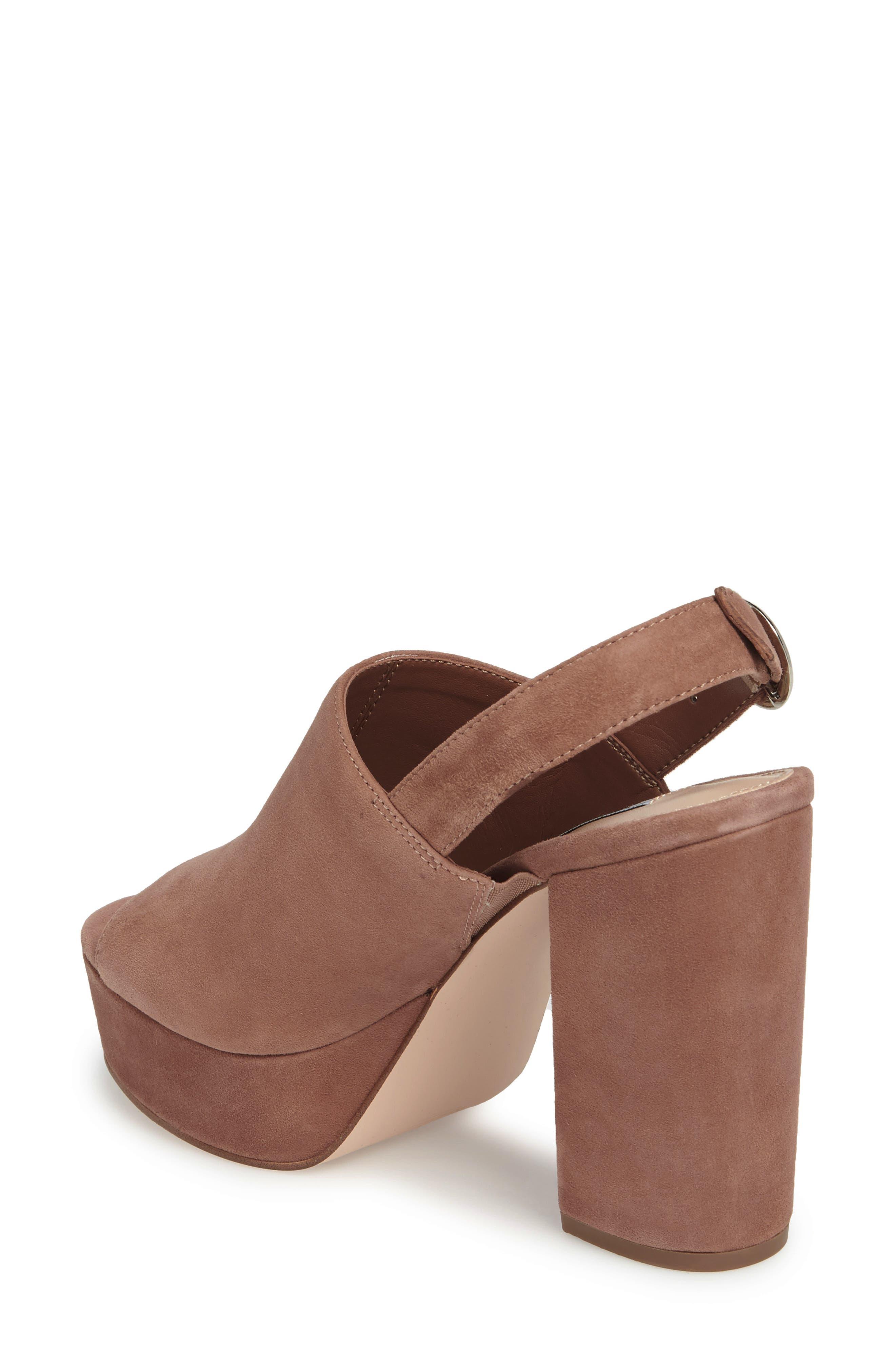 Carter Slingback Platform Sandal,                             Alternate thumbnail 4, color,
