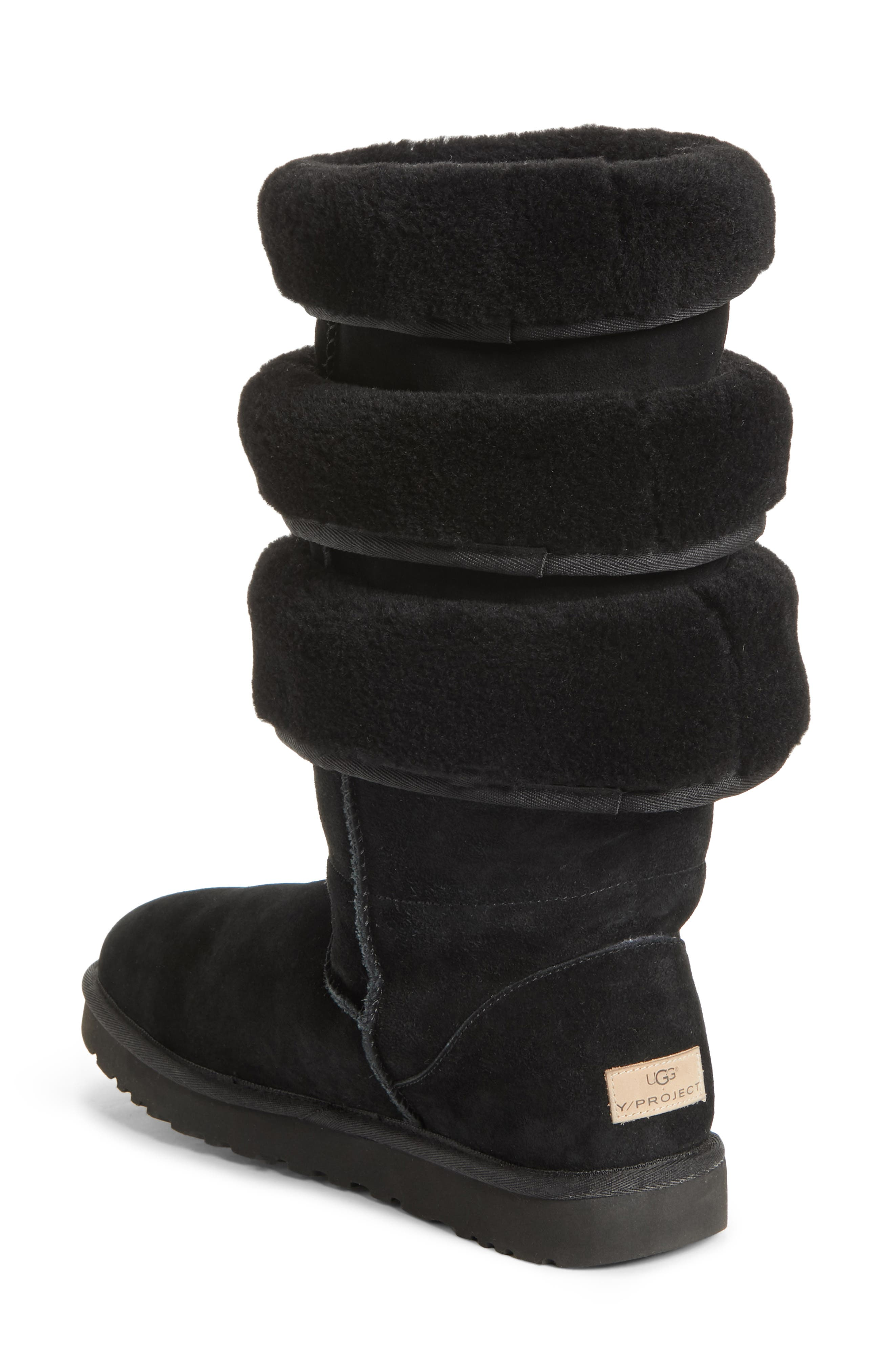 x UGG<sup>®</sup> Layered Boot,                             Alternate thumbnail 2, color,                             NOIR