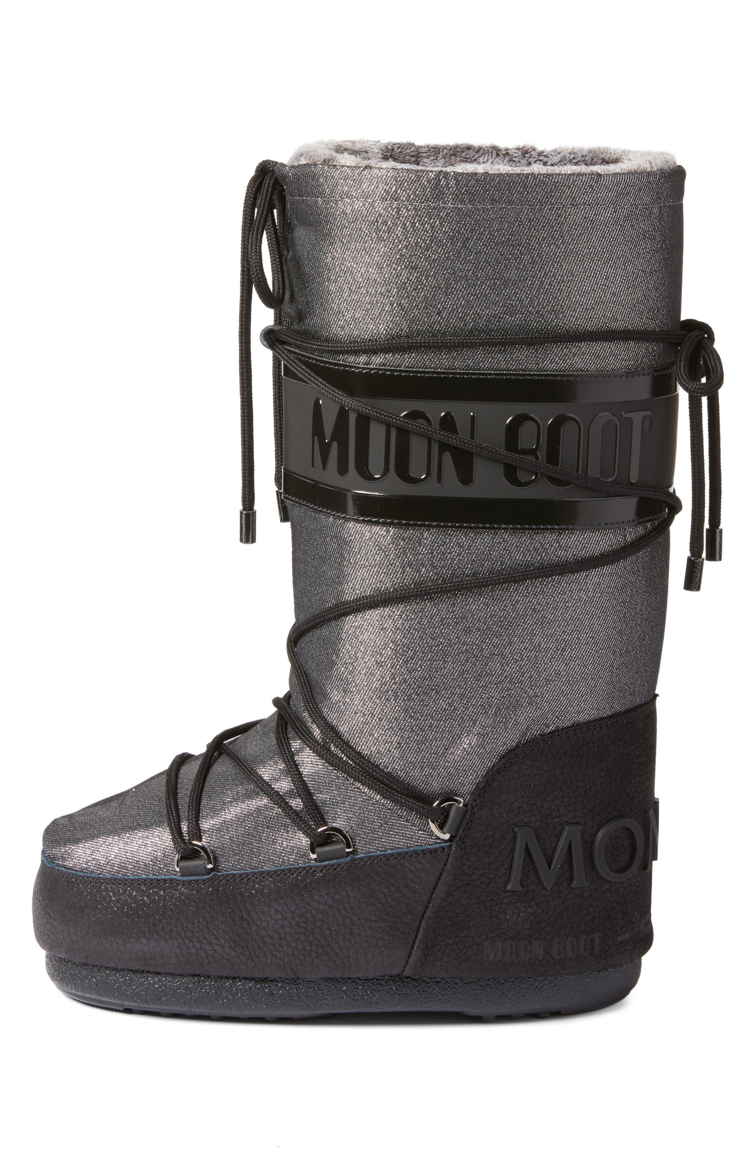 Saturne Moon Boot,                             Alternate thumbnail 3, color,                             040