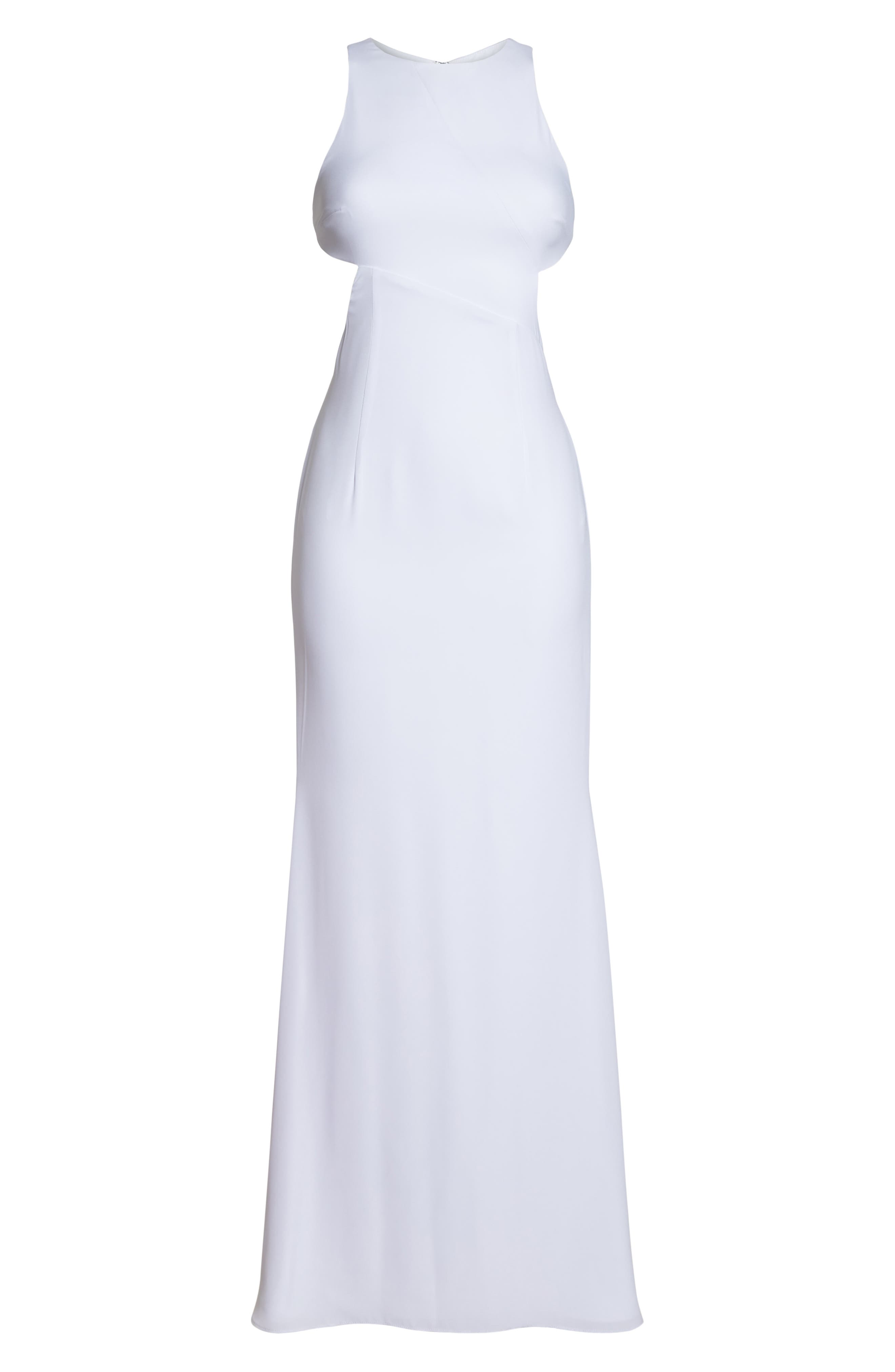 Fame & Partners The Midheaven Gown,                             Alternate thumbnail 7, color,                             WHITE