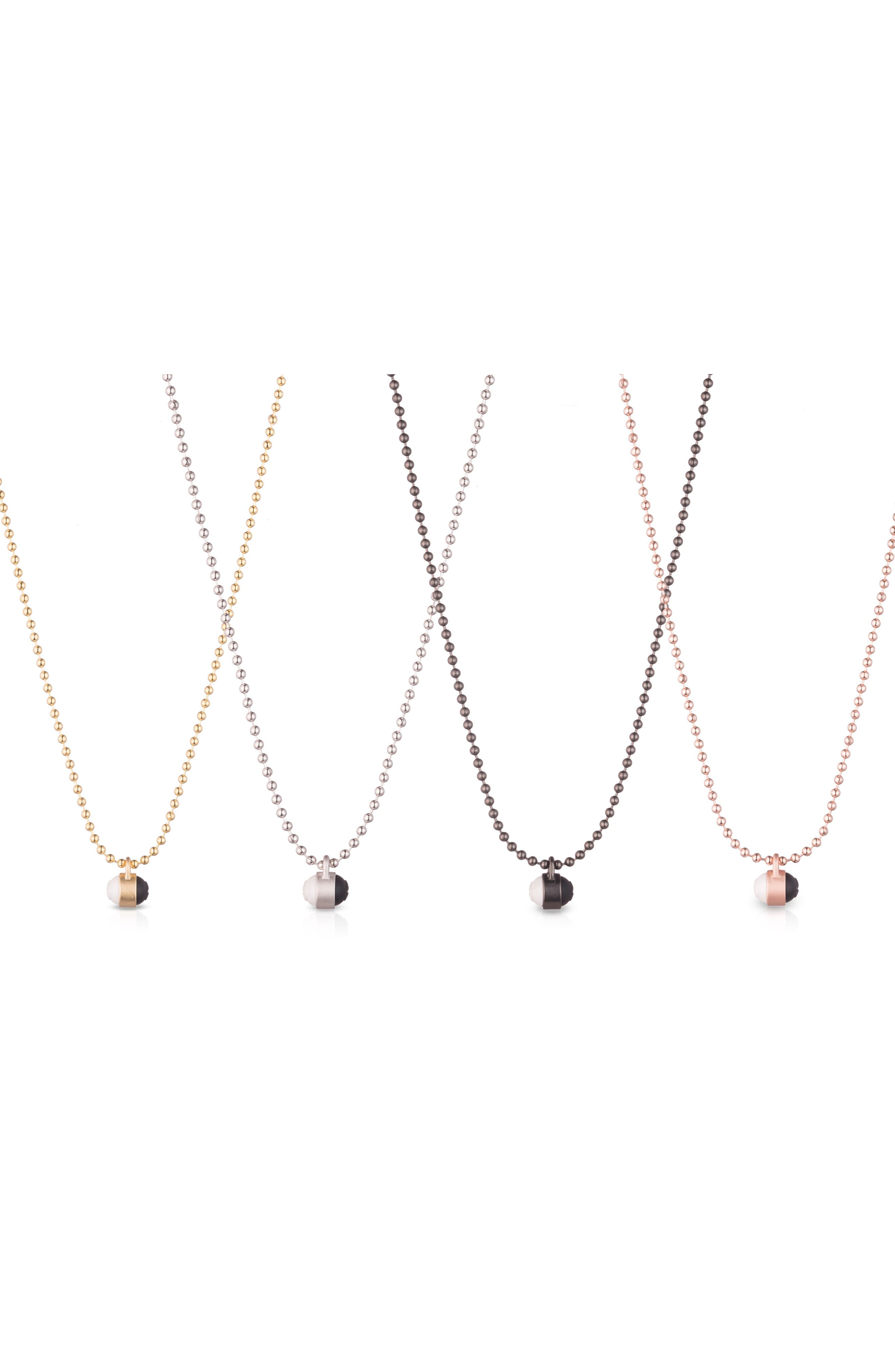 Pendant Ball Chain Necklace,                             Alternate thumbnail 15, color,