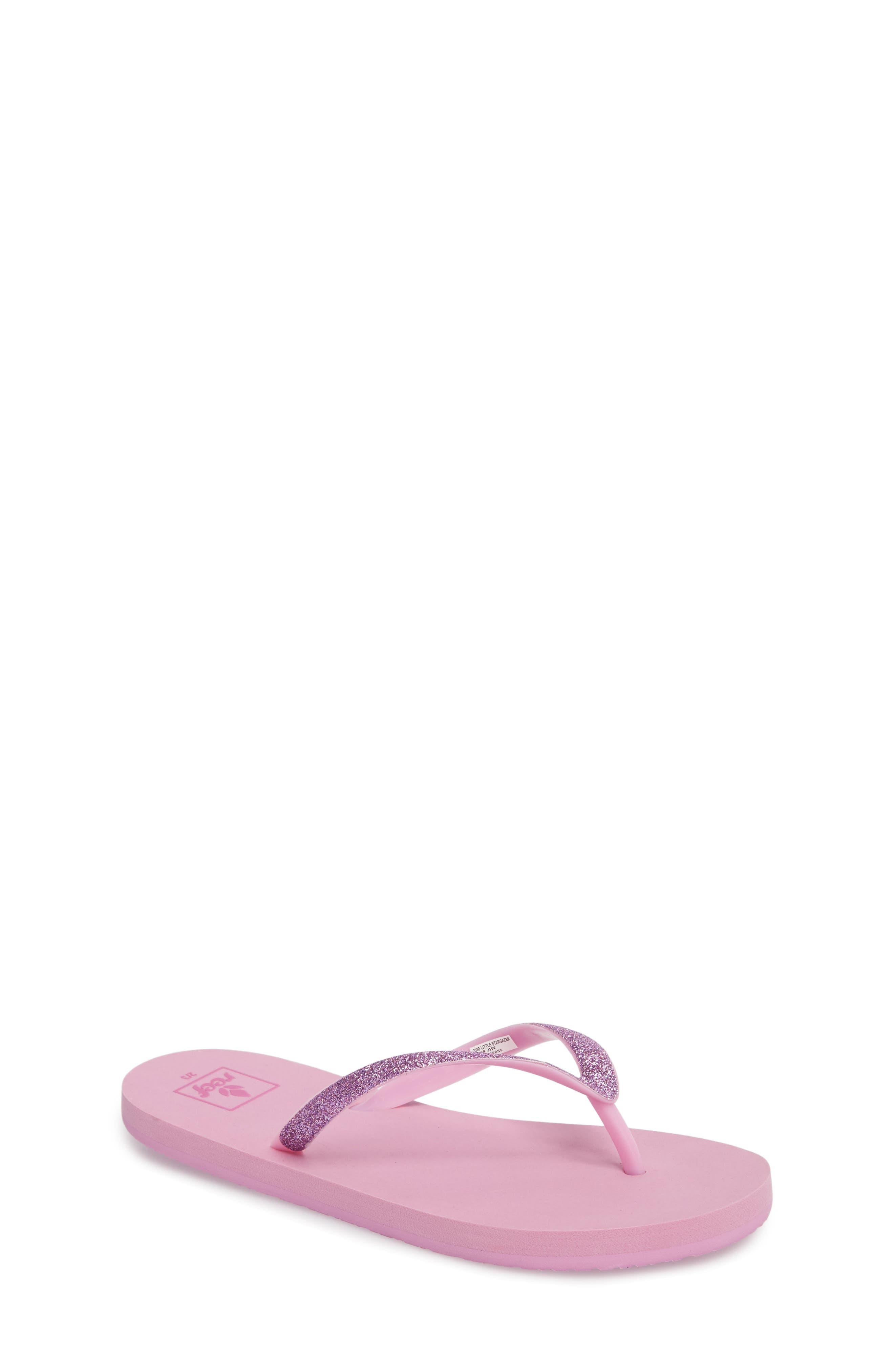Little Stargazer Glitter Sandal,                             Main thumbnail 1, color,                             LAVENDER