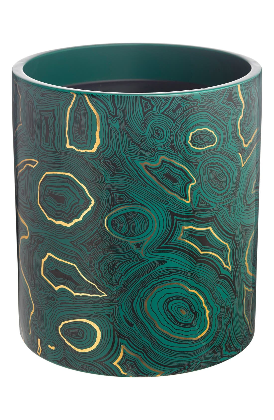 'Malachite' Large Candle,                             Main thumbnail 1, color,                             000