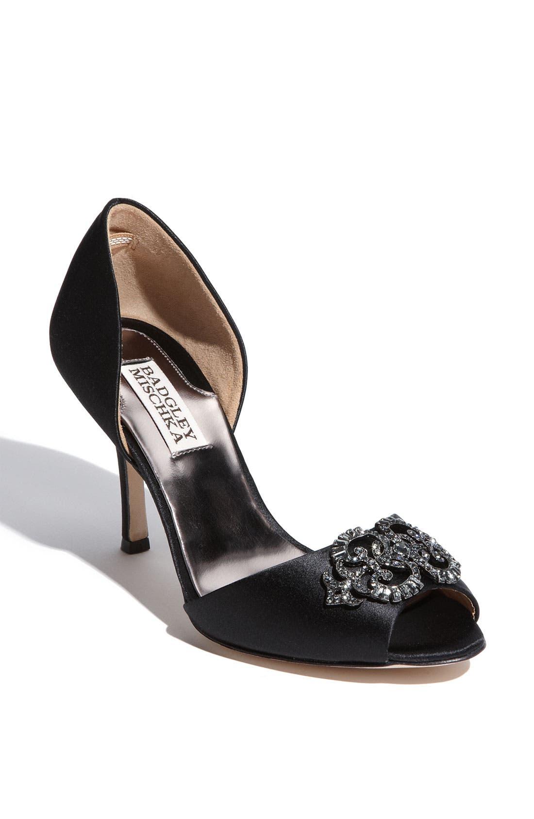 Badgley mischka salsa shoes